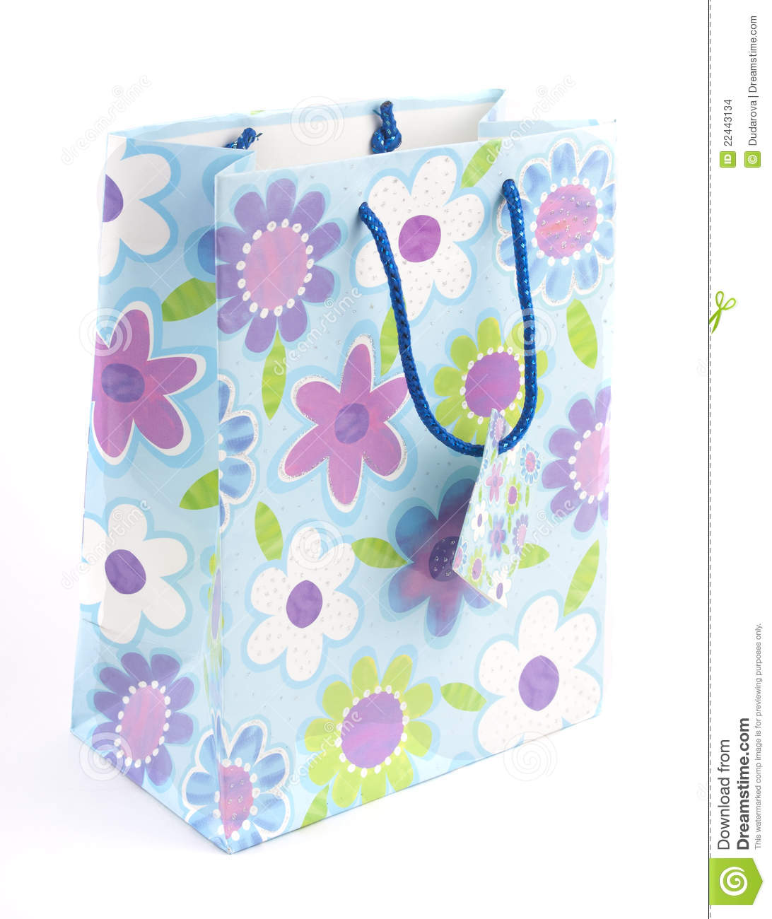 Bag with a print