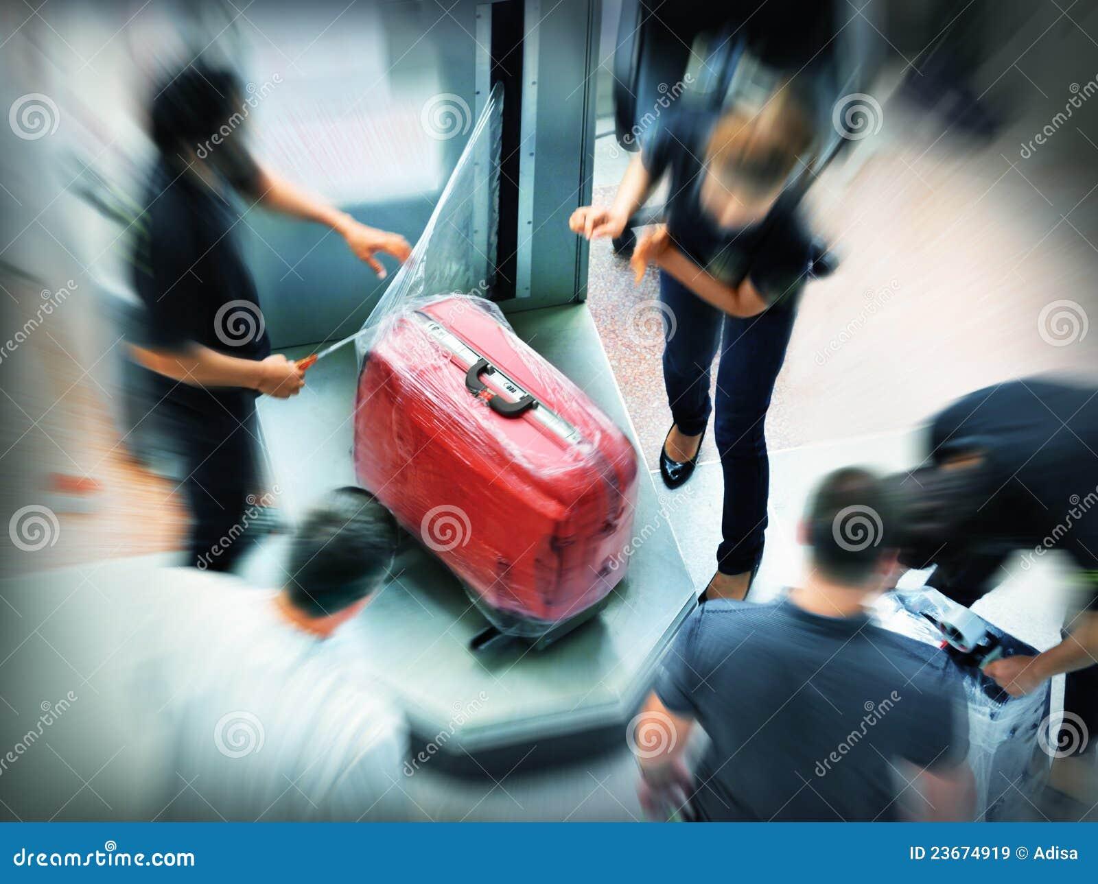 Bagażowy opakowanie