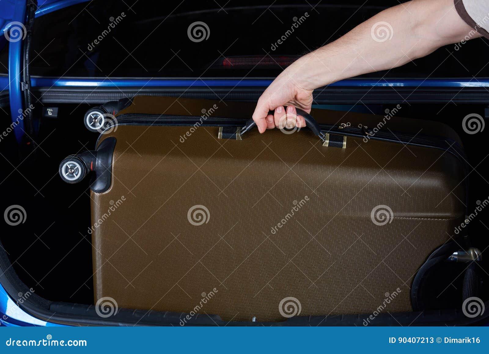 Bagagem da tomada da mão