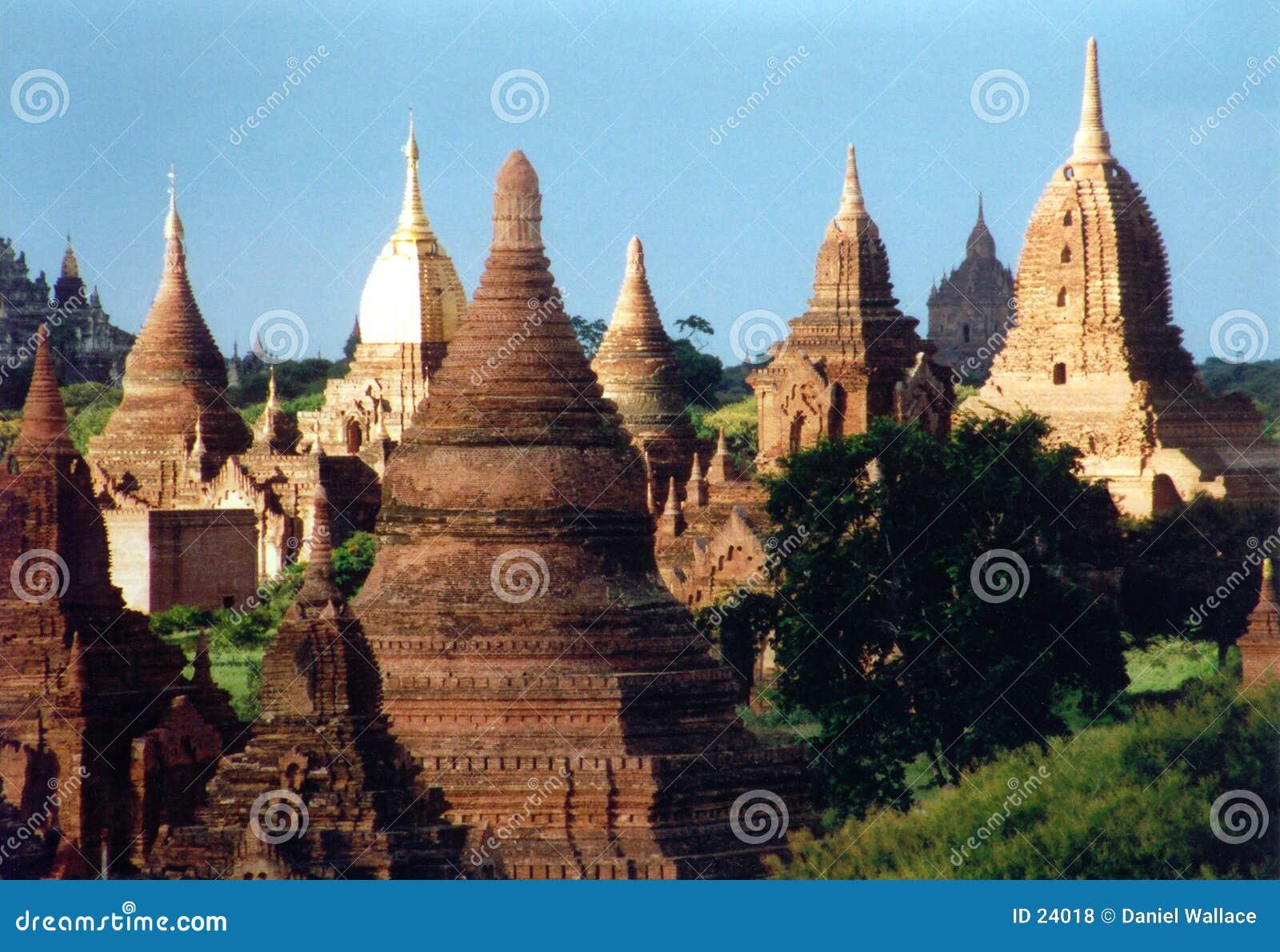 Bagan废墟