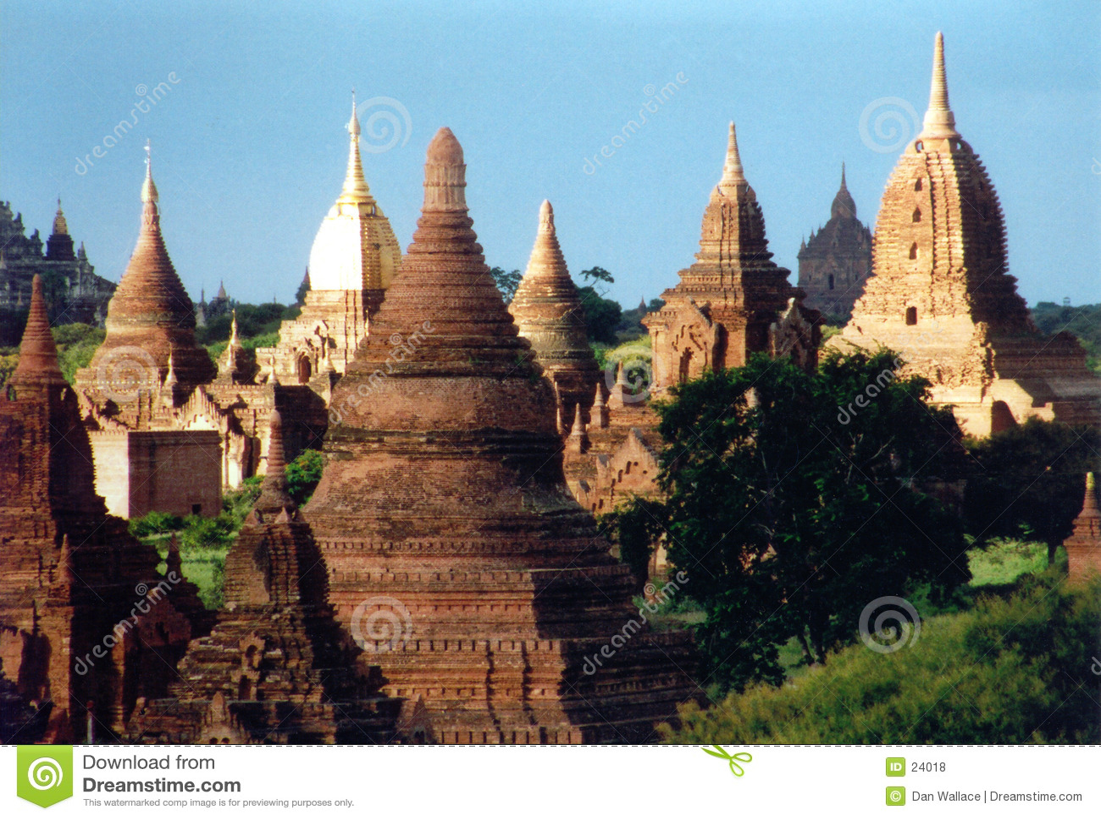 Bagan fördärvar