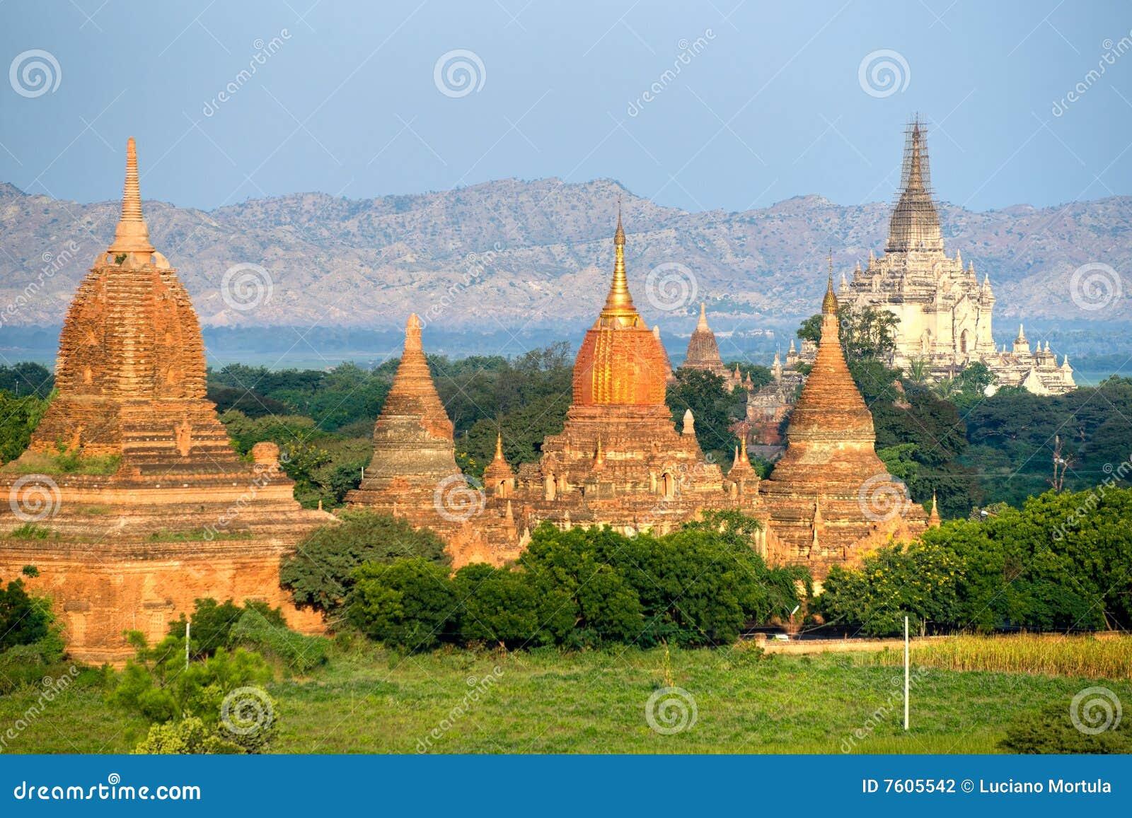 Bagan gawdawpalin缅甸塔pahto