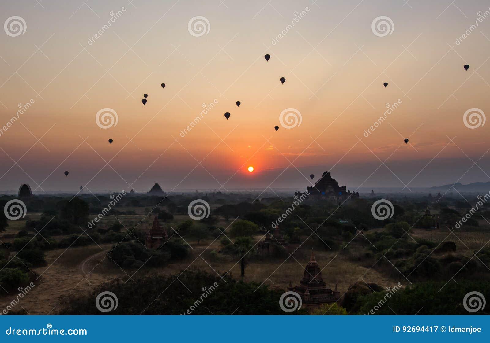 Bagan soluppgång