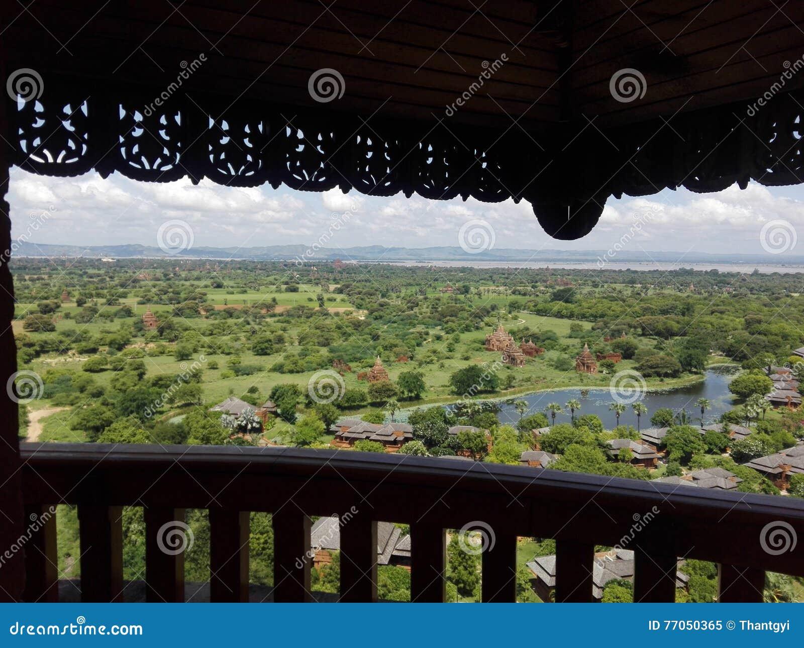 Bagan Tower (Nan Myint)
