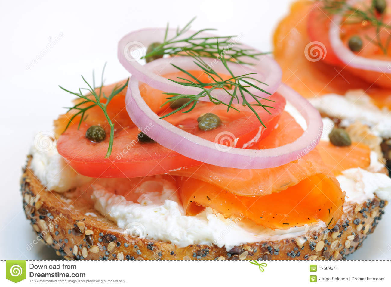how to make lox and bagels