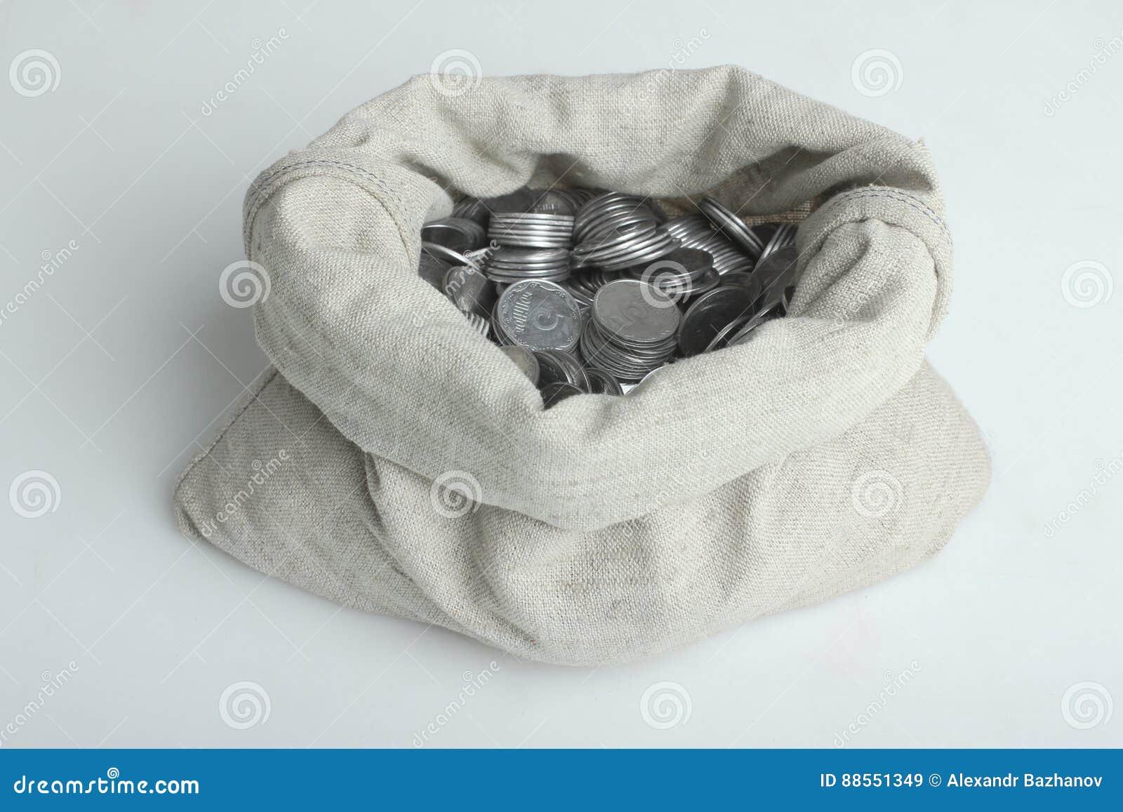 Bagful z pieniądze