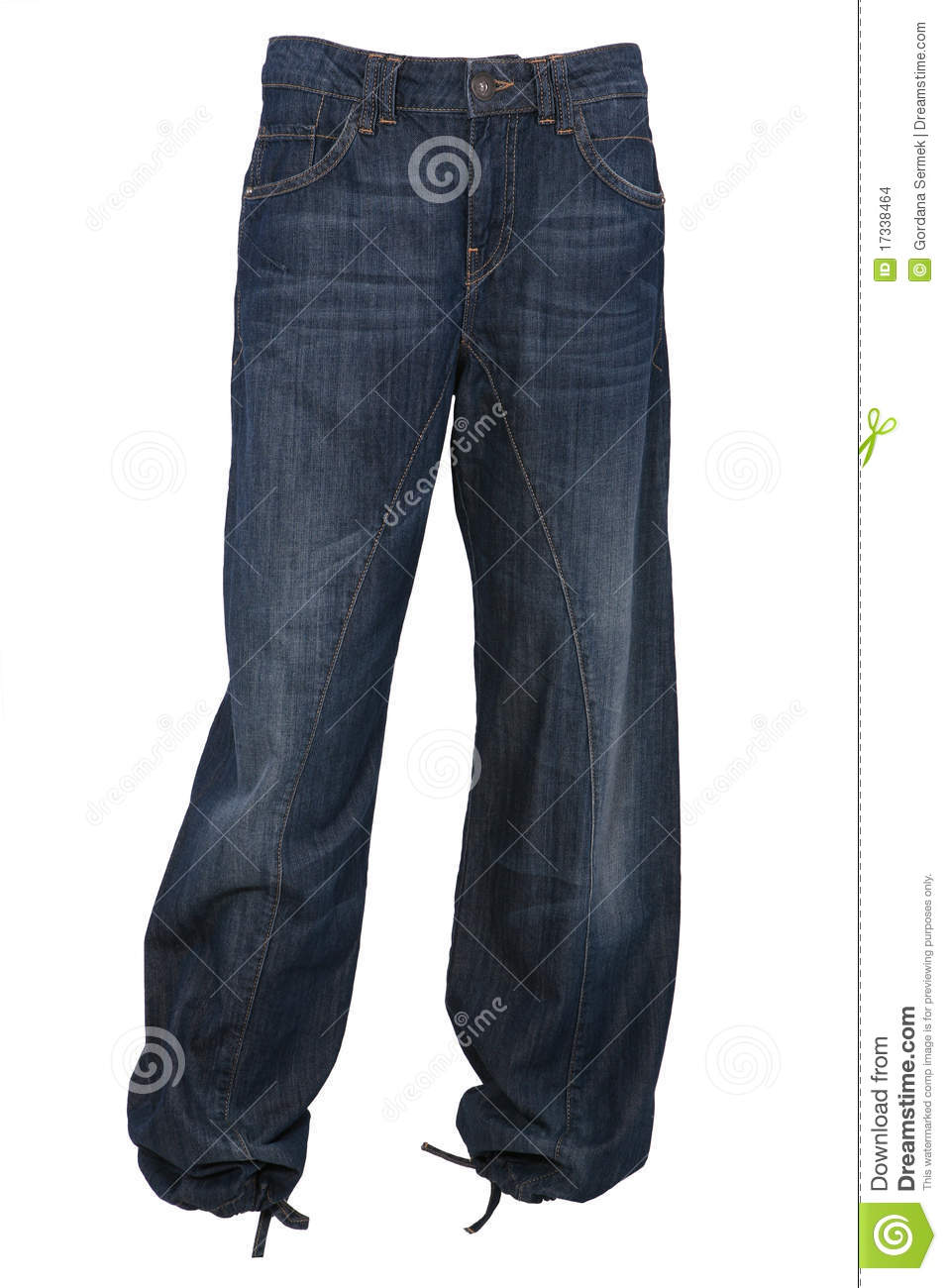 Baggy Jeans Trousers Stock Images Image 17338464