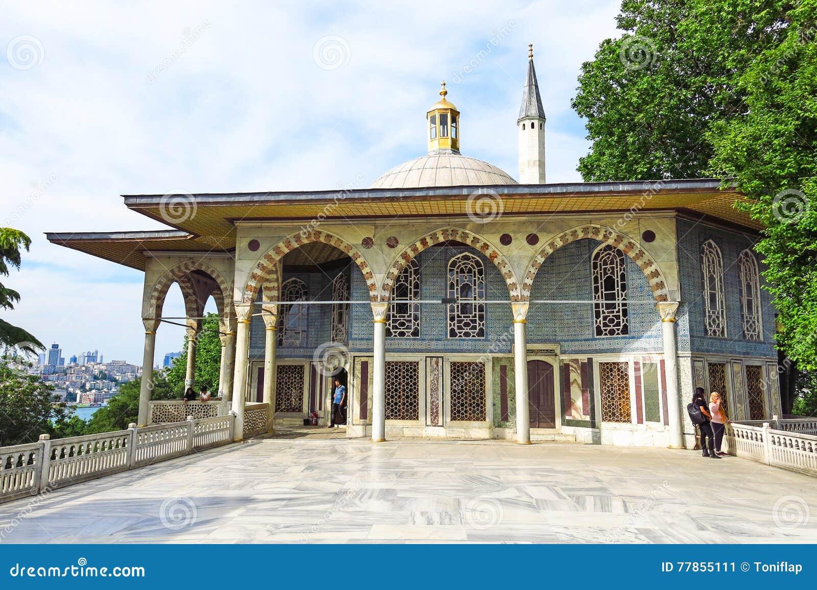 Baghdad kiosk som placeras i den Topkapi slotten