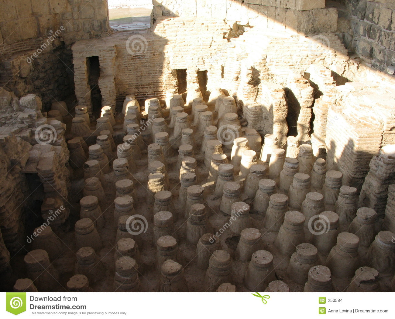 Bagni Antichi Immagini Stock - Immagine: 250584
