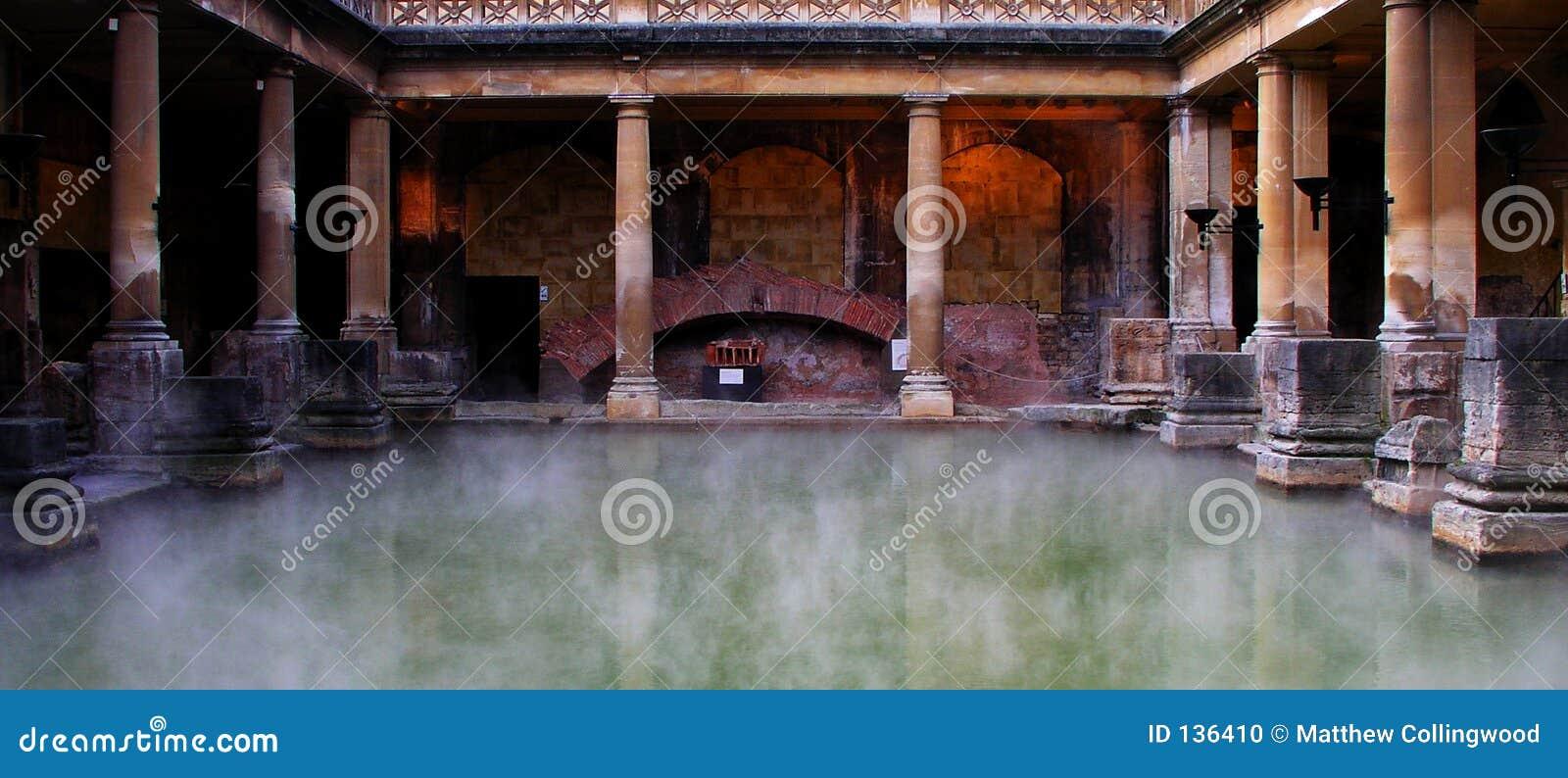 Bagni romani fotografia stock. Immagine di romano, bagno - 136410