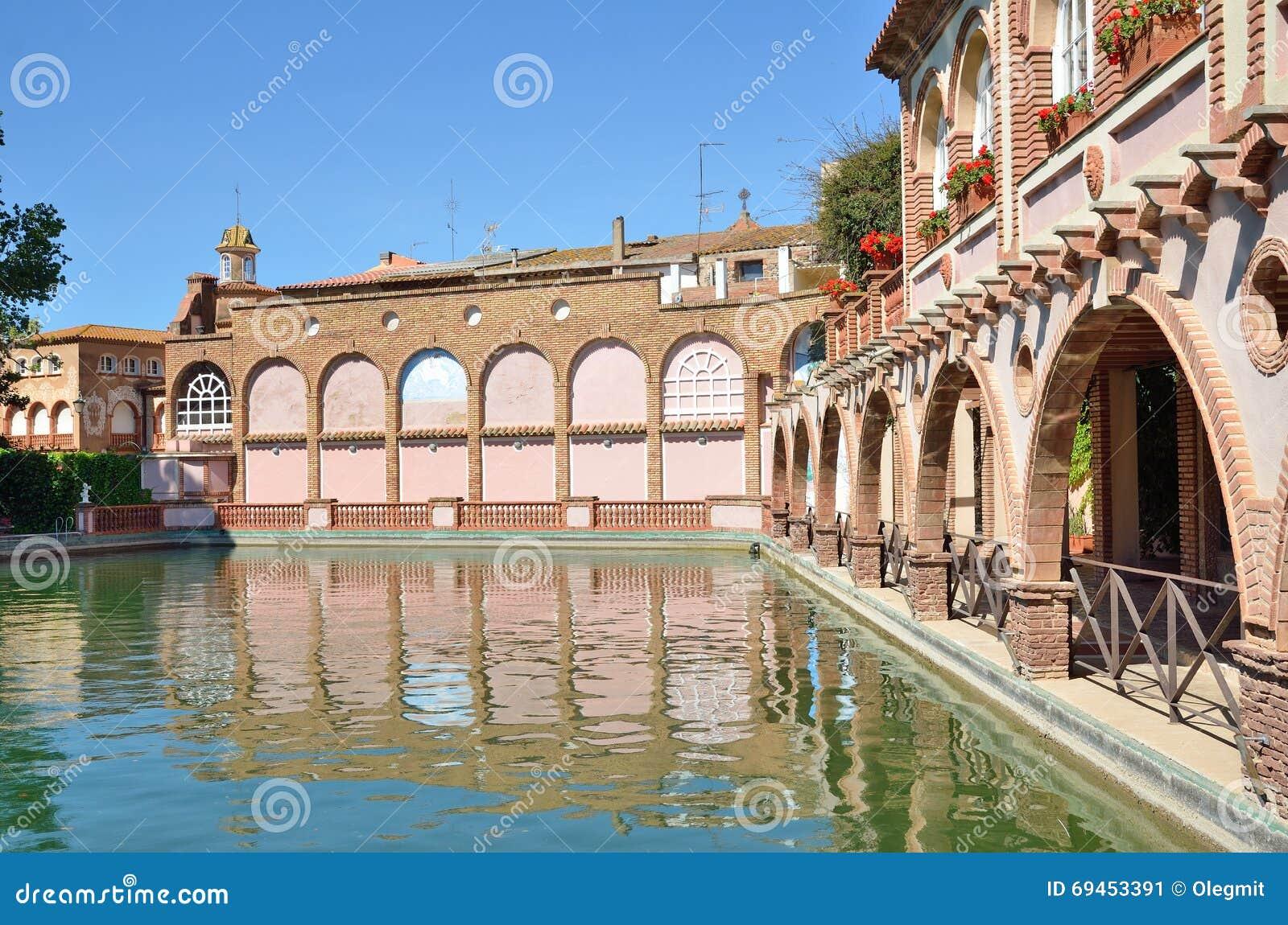 Bagni romani della località di soggiorno di stazione termale