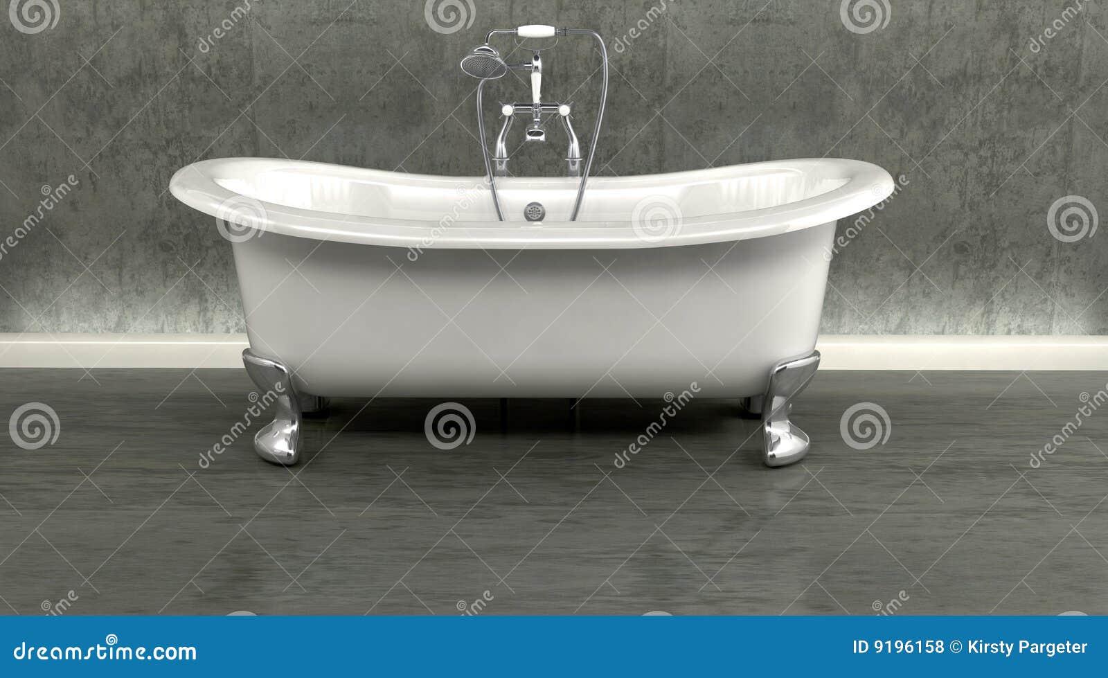 Bagno classico della parte superiore di rullo