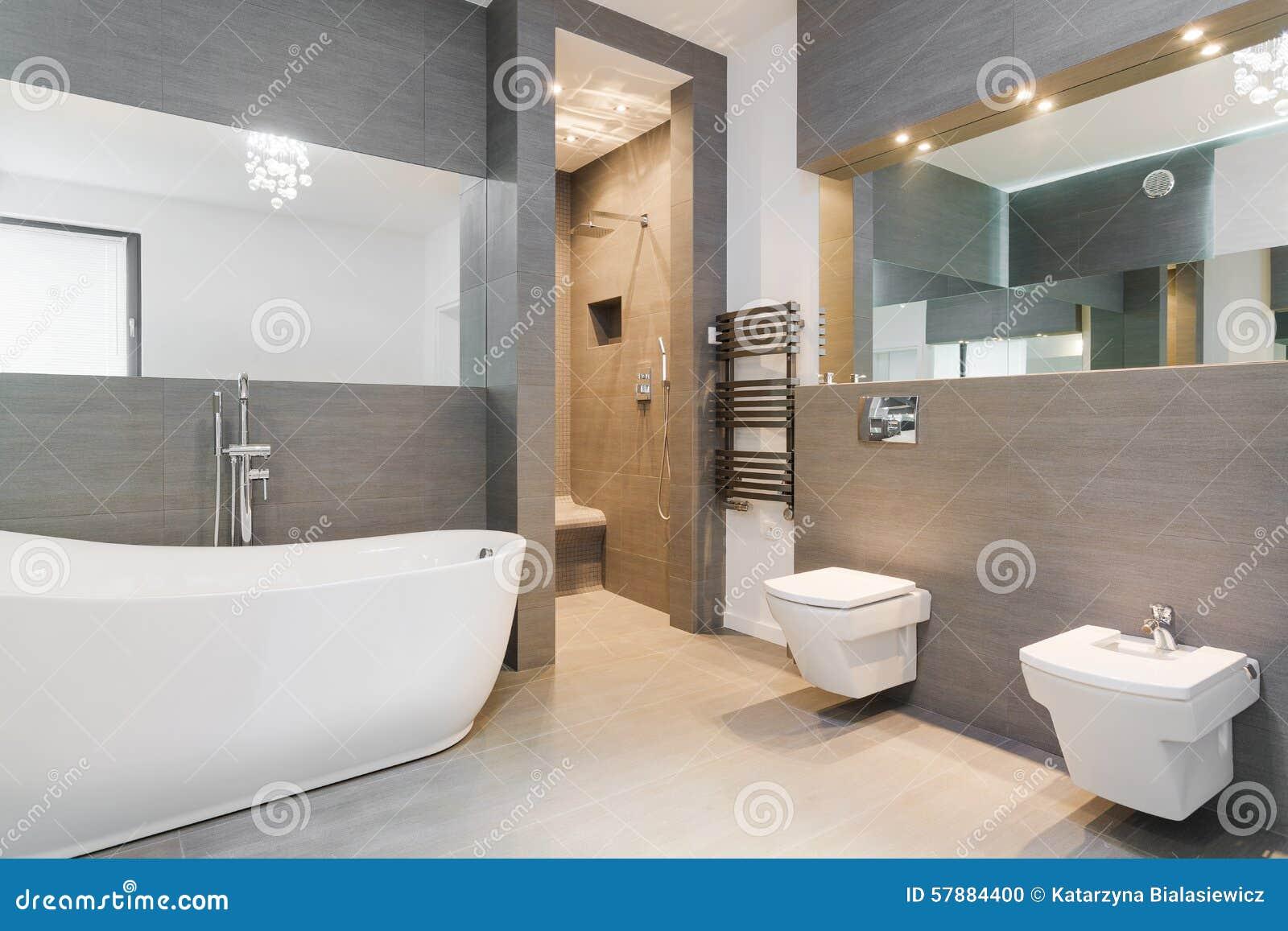 bagno classico piastrelle ~ bagni contemporanei lavandino in marmo ... - Boiserie Bagno Classico