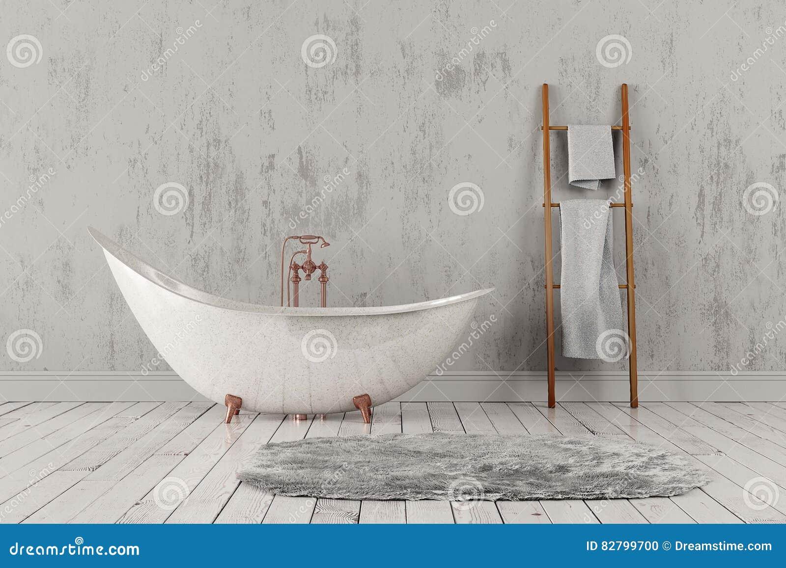 Vasca Da Bagno Ruvida : Bagno con tappeto ed asciugamani pavimento di legno e parete