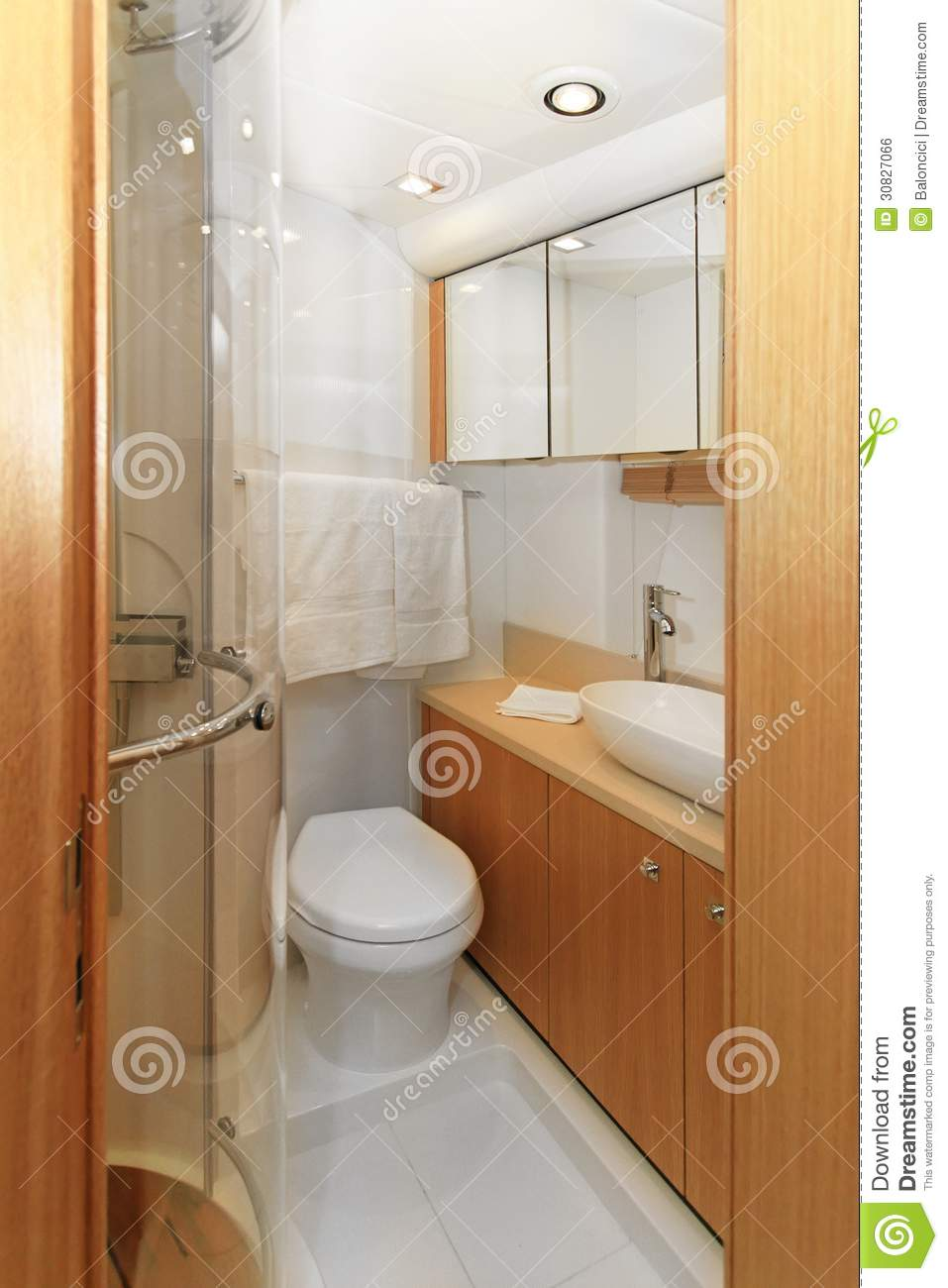 Bagno dell yacht