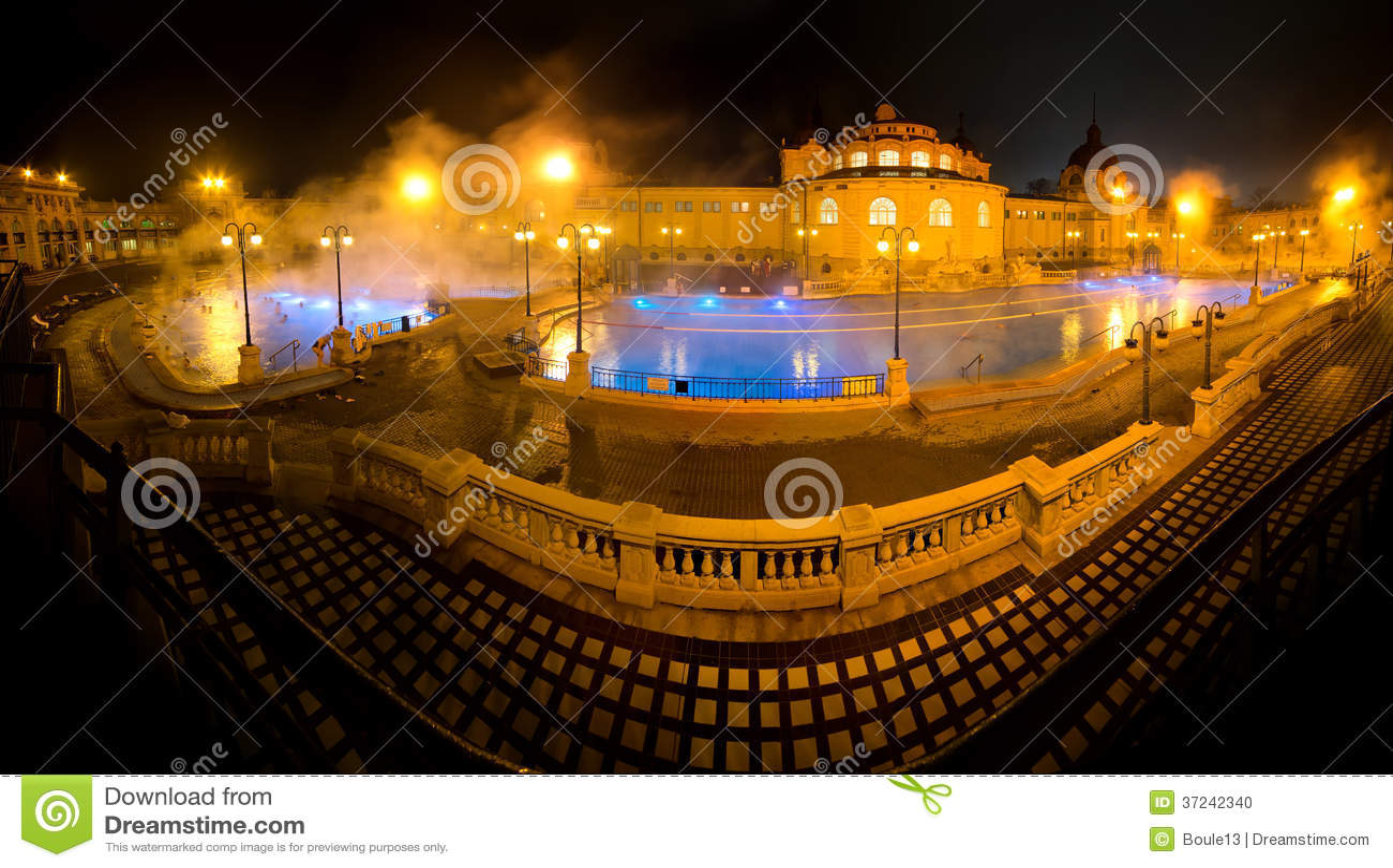 bagni termali szechenyi bagno della stazione termale di szechenyi budapest ungheria