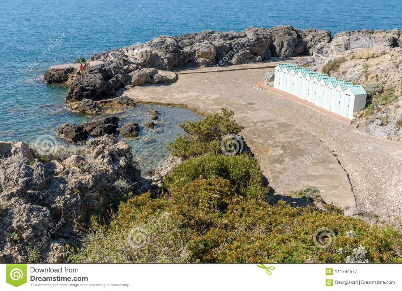 Bagno delle donne beach at talamone tuscany italy stock image image of resort mediterranean - Bagno delle donne talamone ...