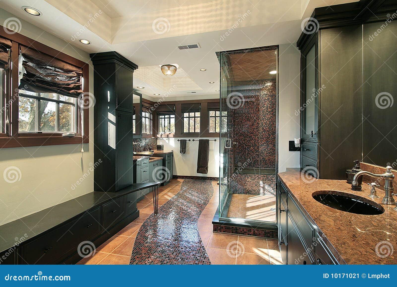 Bagno matrice nella casa di lusso immagine stock immagine 10171021 - Asciugamani bagno di lusso ...