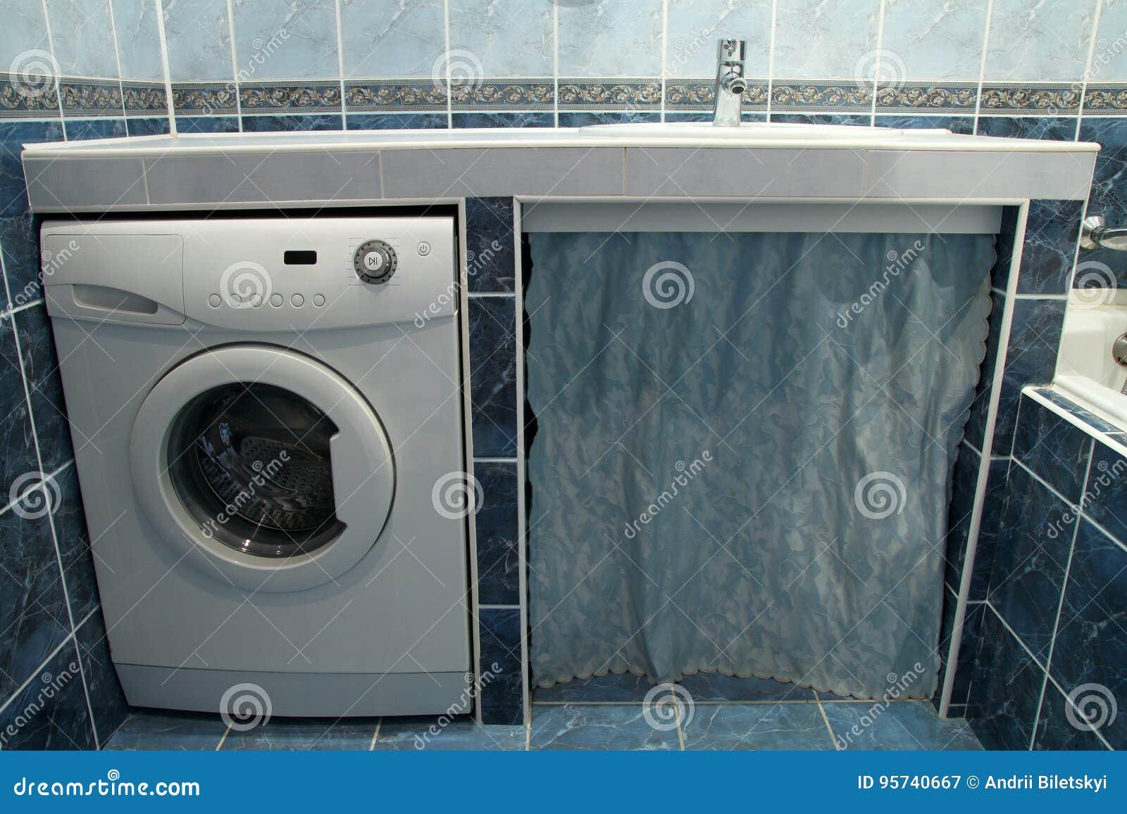 Bagni Moderni Con Lavatrice
