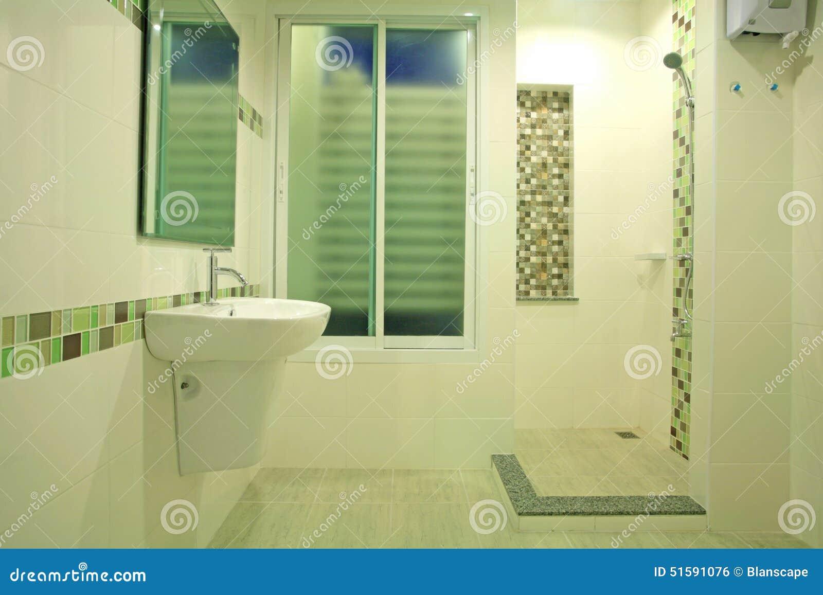 bagno moderno dal concetto verde fotografia stock - immagine: 51591076 - Bagni Moderni Verdi