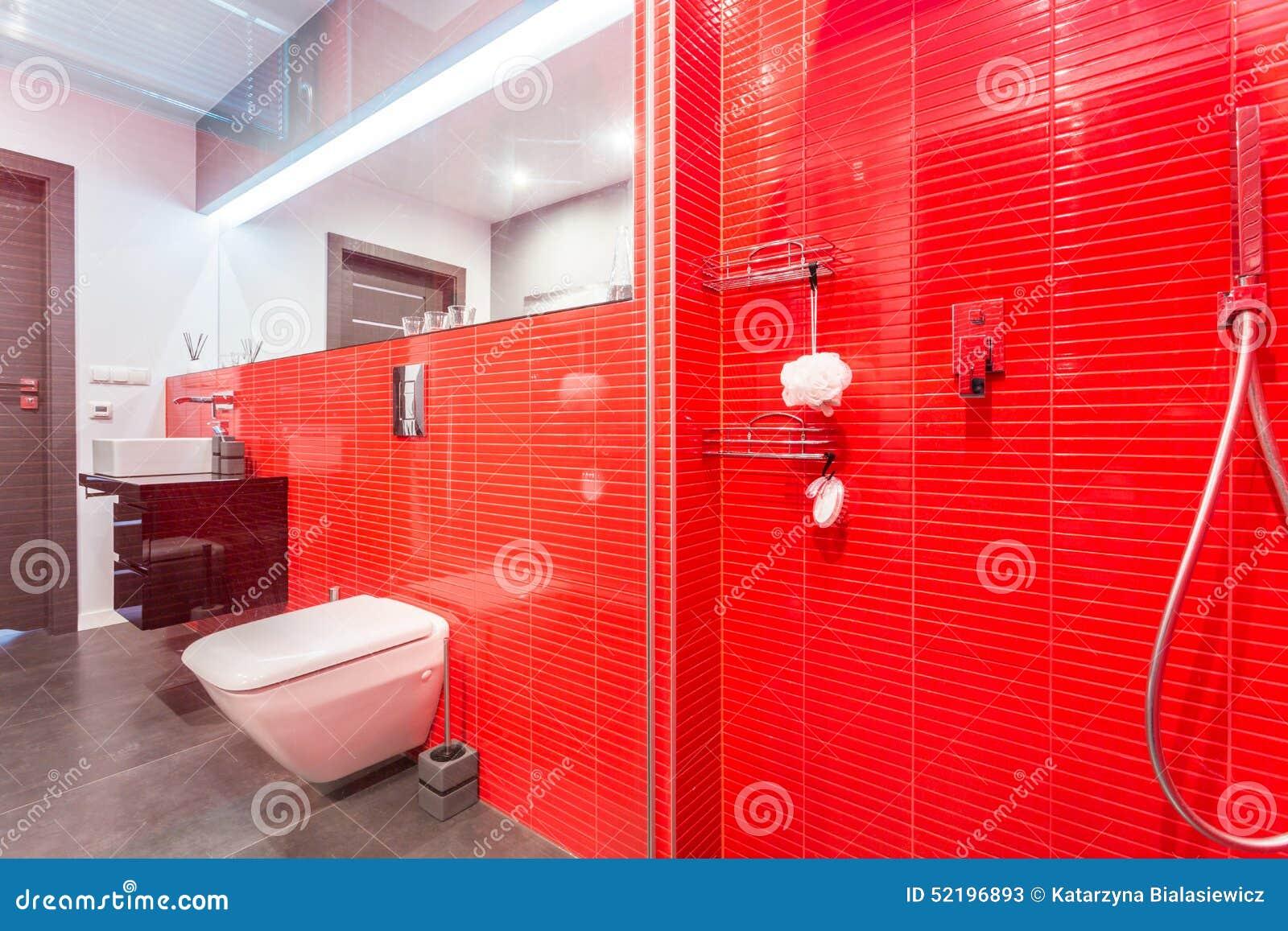 Colori pareti soggiorno 2016 - Bagno mosaico rosso ...