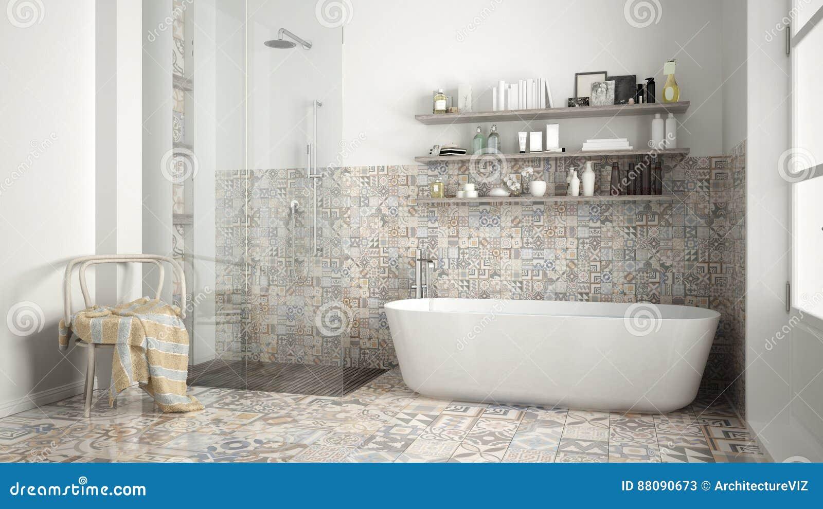 Bagno Design Scandinavo : Bagno scandinavo interior design dannata bianco classico immagine