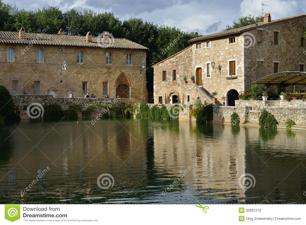 Old Thermal Baths In Bagno Vignoni Editorial Photography - Image: 30061272