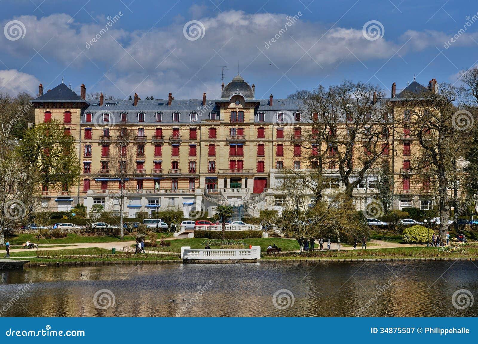 Bagnoles de l orne in normandie royalty free stock for Design hotel normandie france