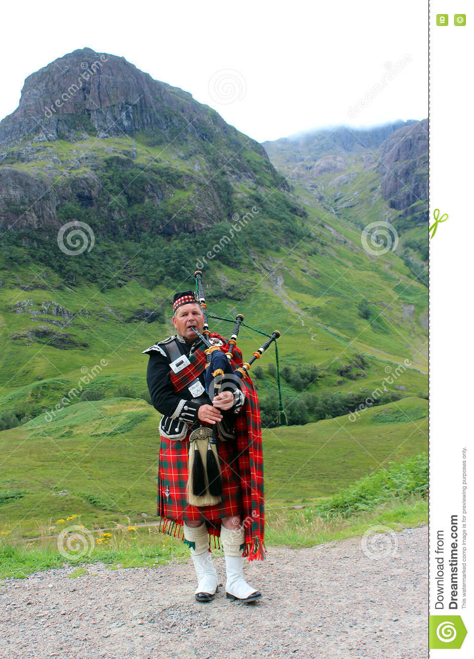 Bagpipes escoceses