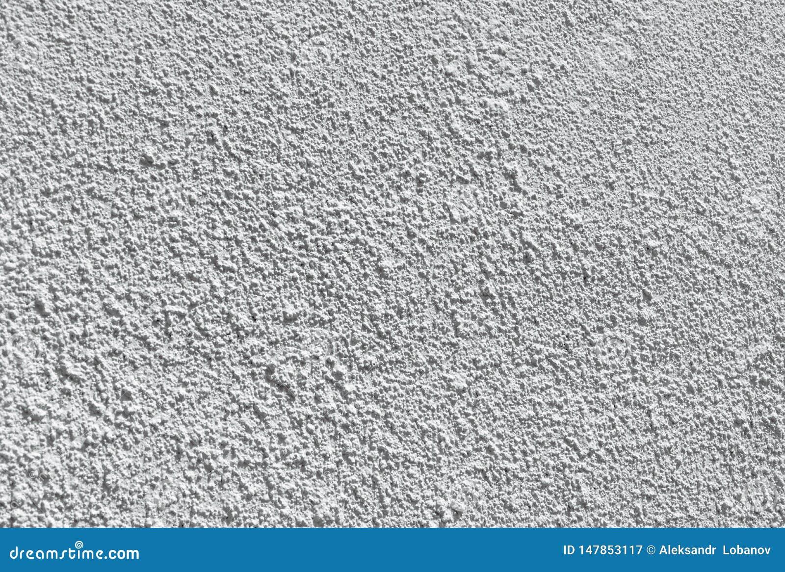 Baground plâtré blanc de texture