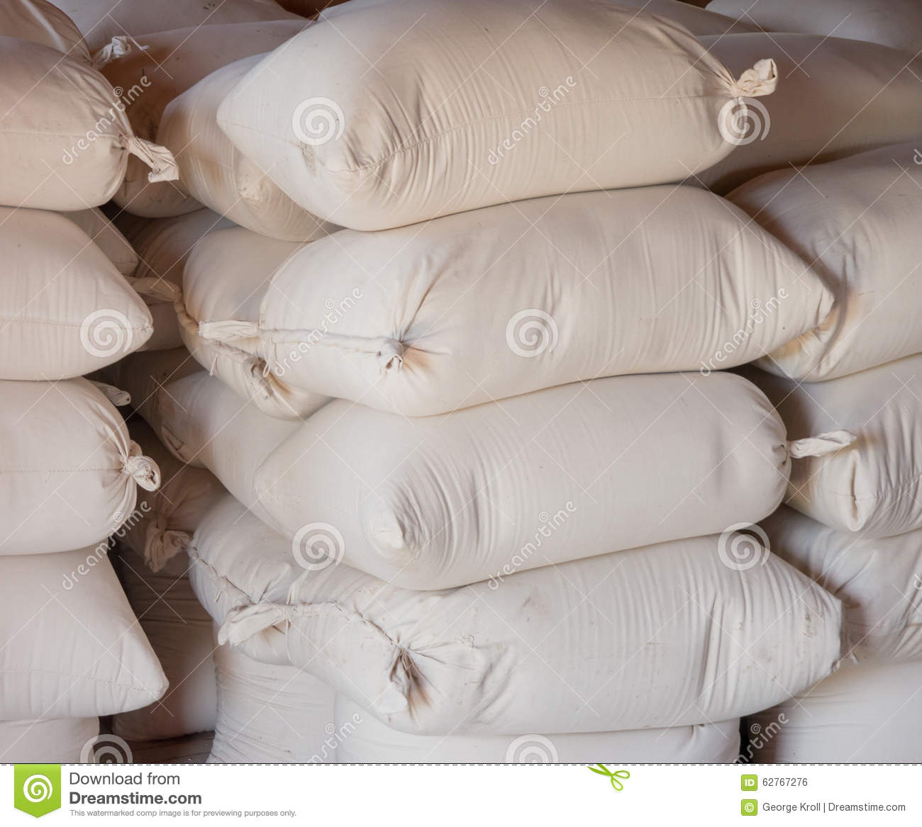 Bags Of Flour Stock Photo Image Of Foodstuff Bake Fine 62767276