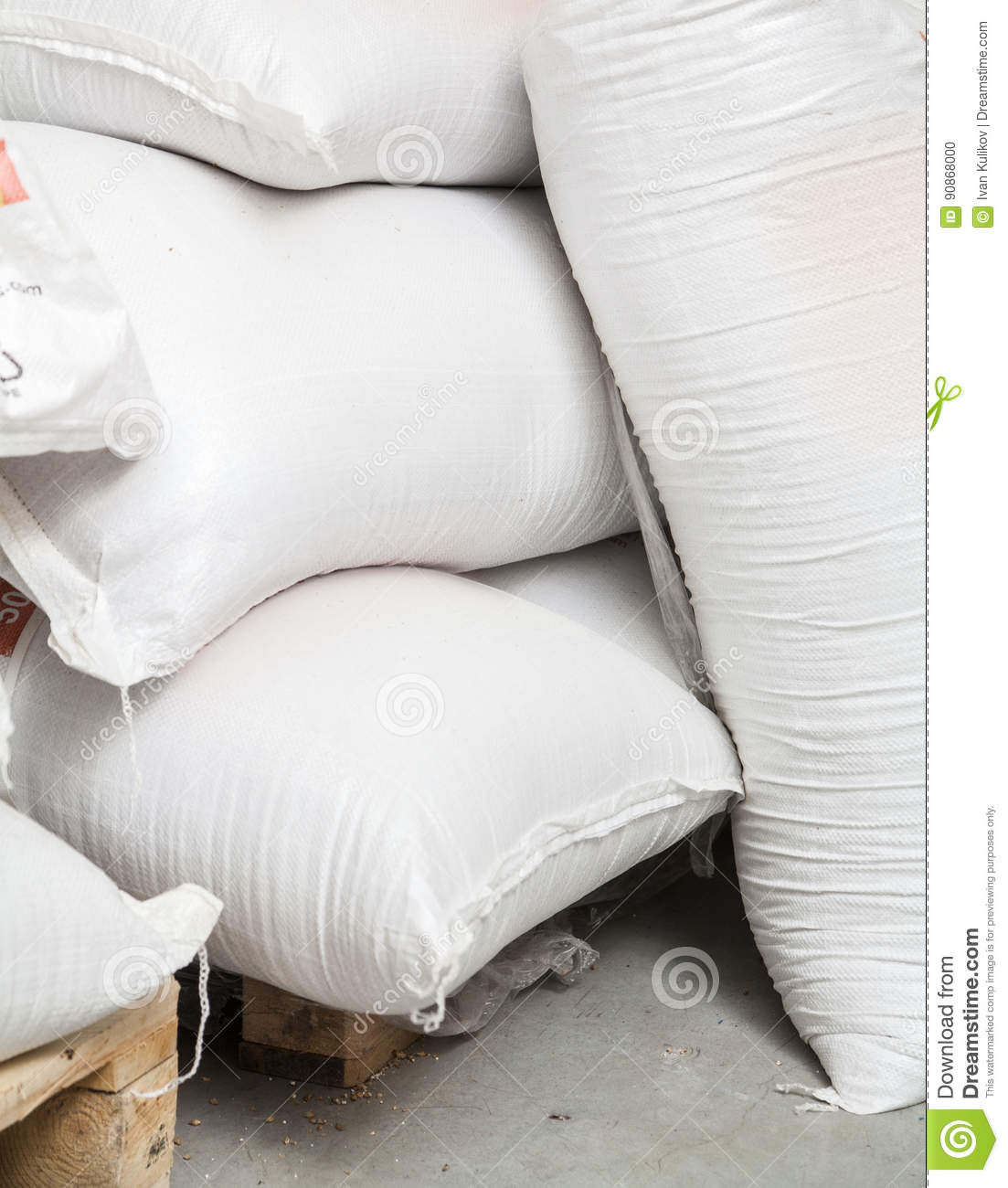 Bags with malt