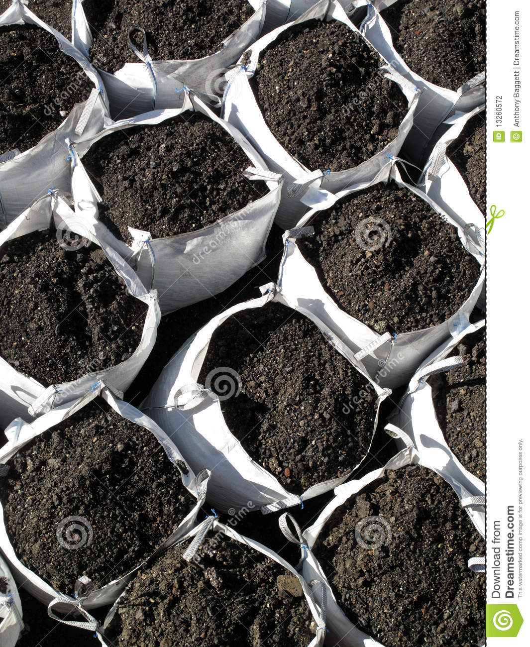 Bags of topsoil stock photography image 13260572 for Bags of topsoil