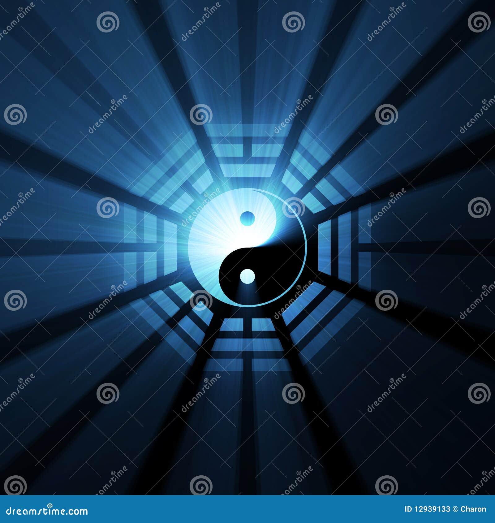 bagua yin yang symbol light flares stock photos image ying yang free vector logo yin yang logo free vector