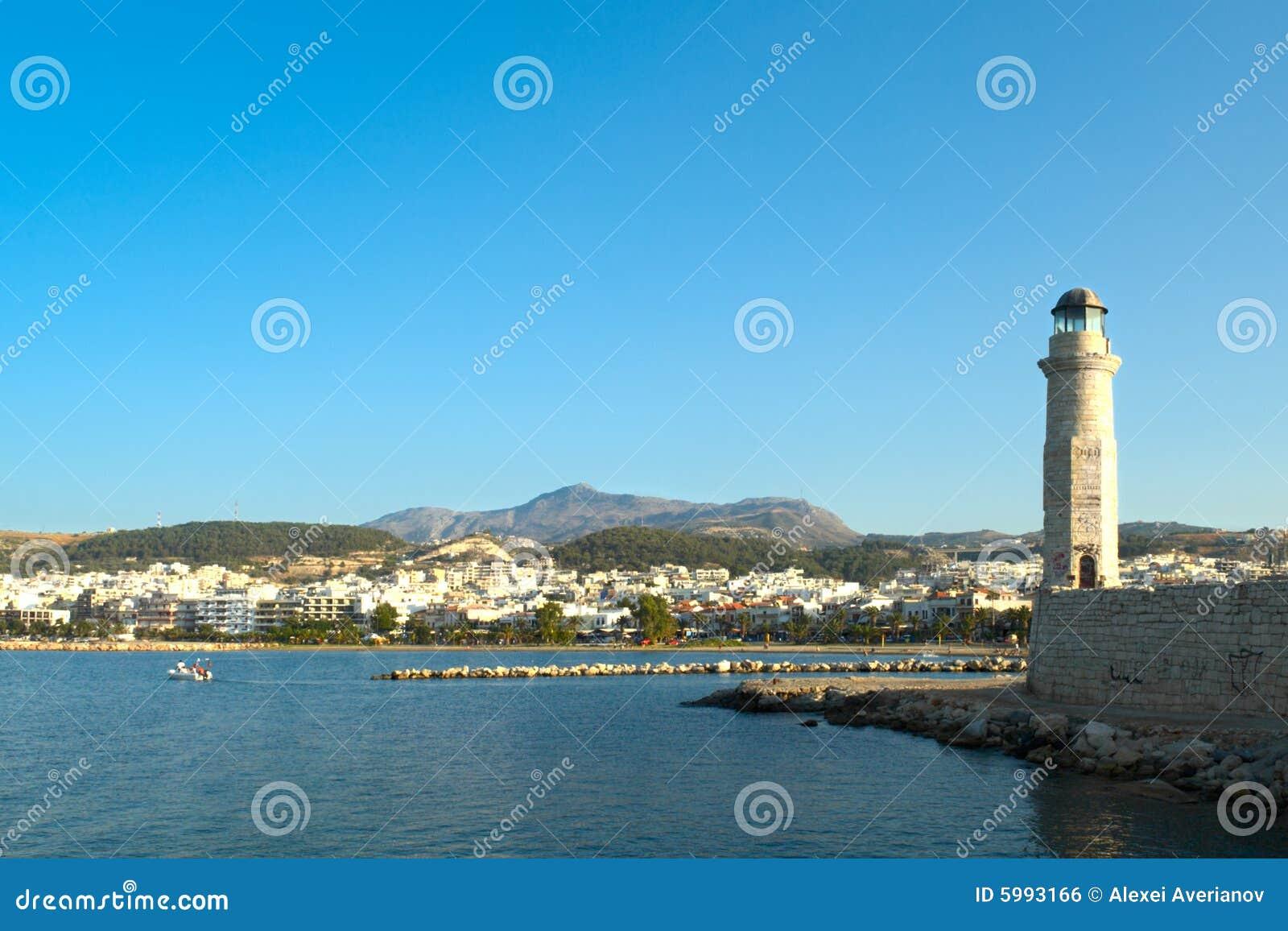 Bahía de Rethymno. Crete.