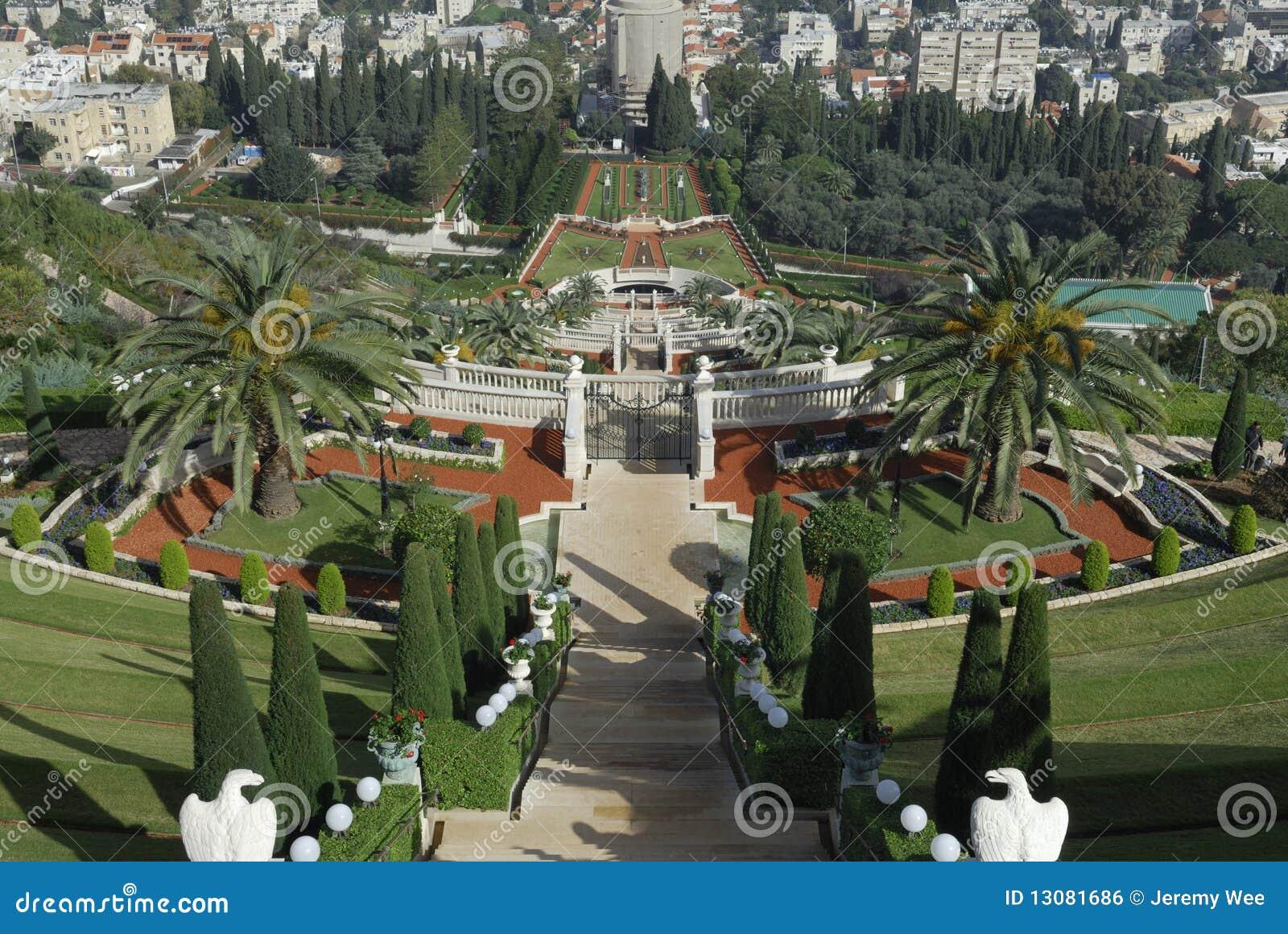 Bahai ogródy