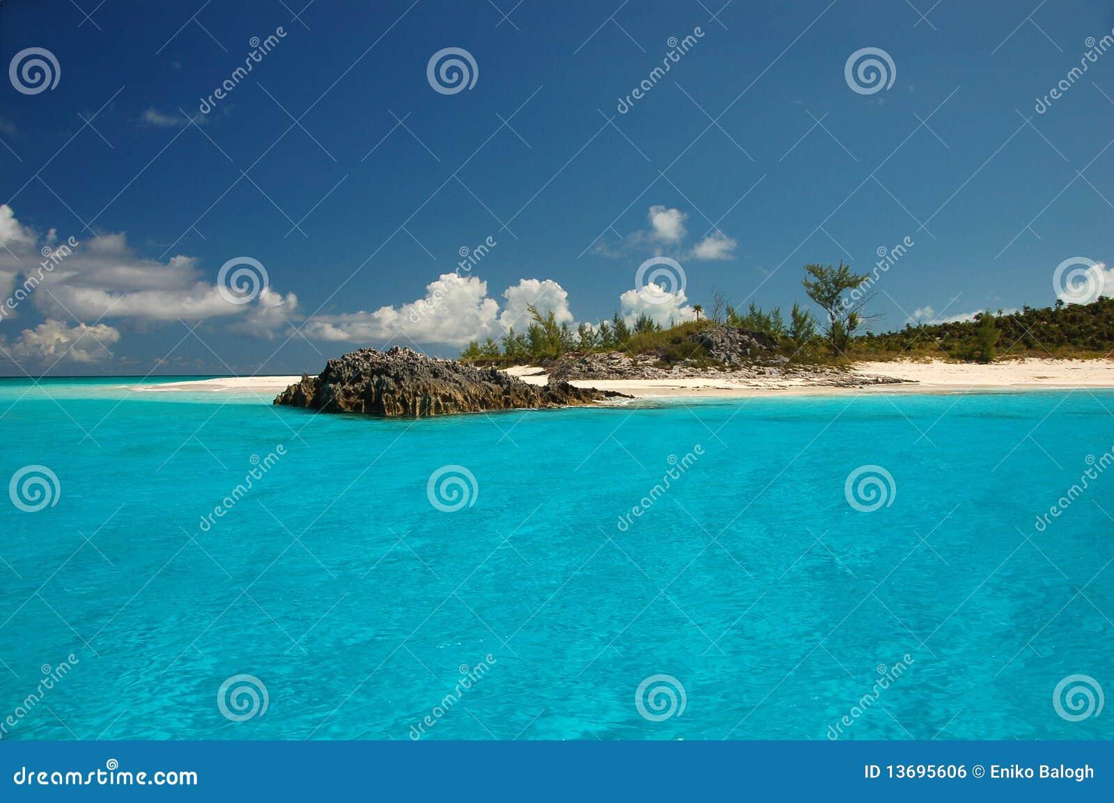 Bahamas plaża