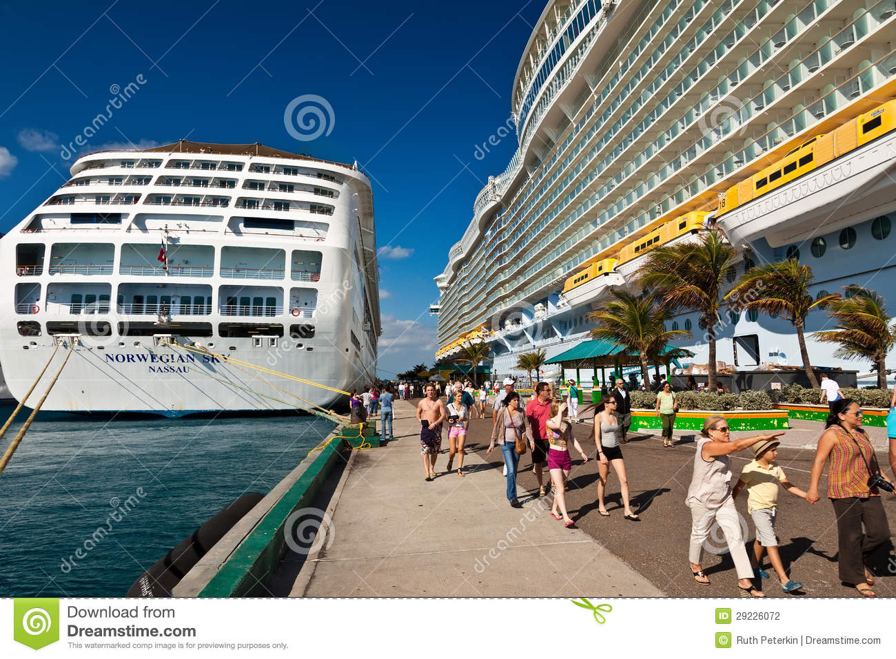 13 2013 Cruise Ship Passengers Disembark From In Nassau The Capital City Of Bahamas Tourism Accounts For Nearly Sixty Percent Islands