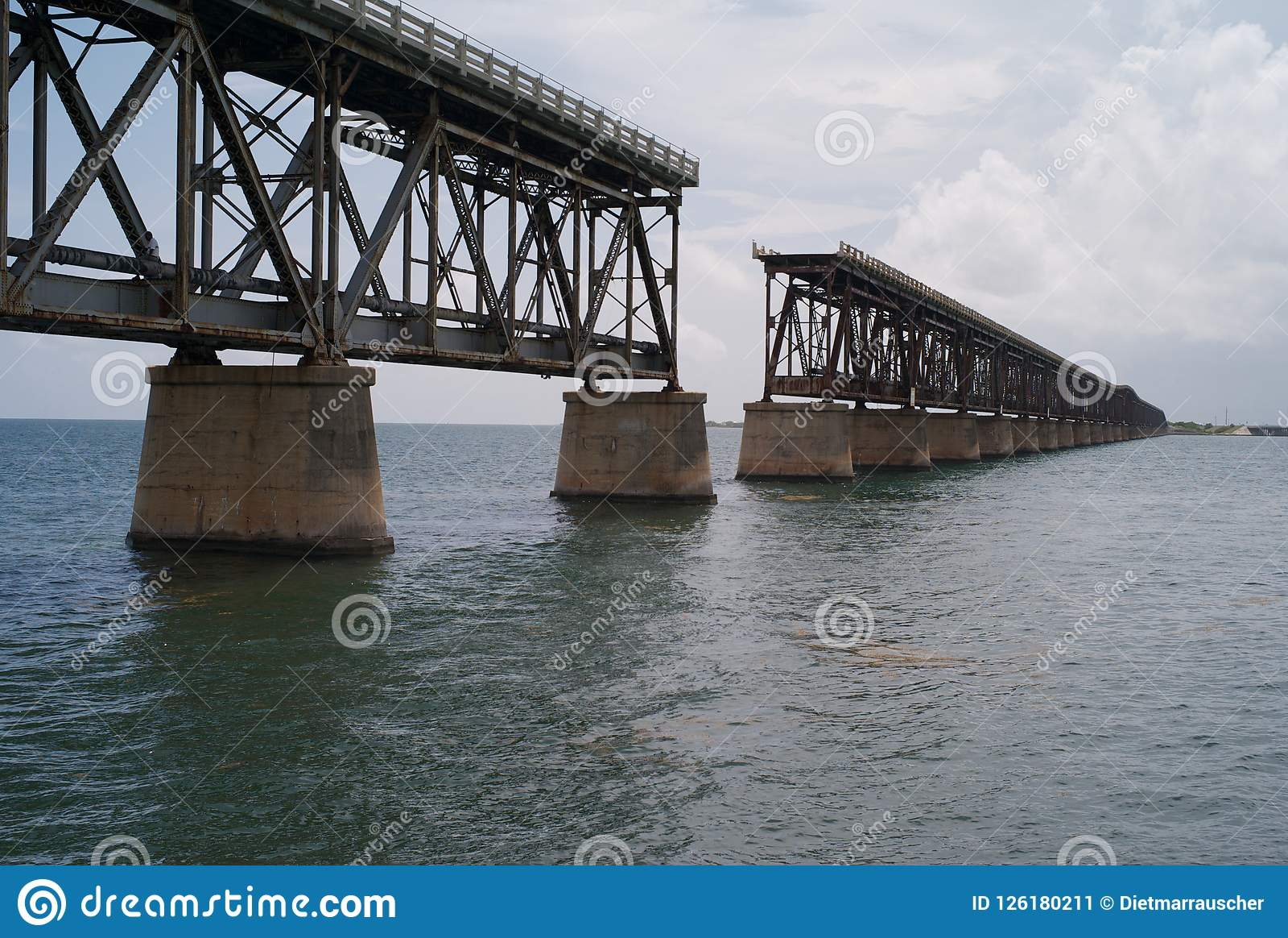 A Derelict Railroad Bridge