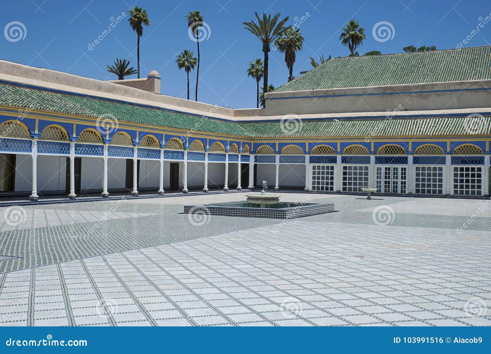 Bahia Palace, Marrakesh, Marocco - 8 maggio 2017