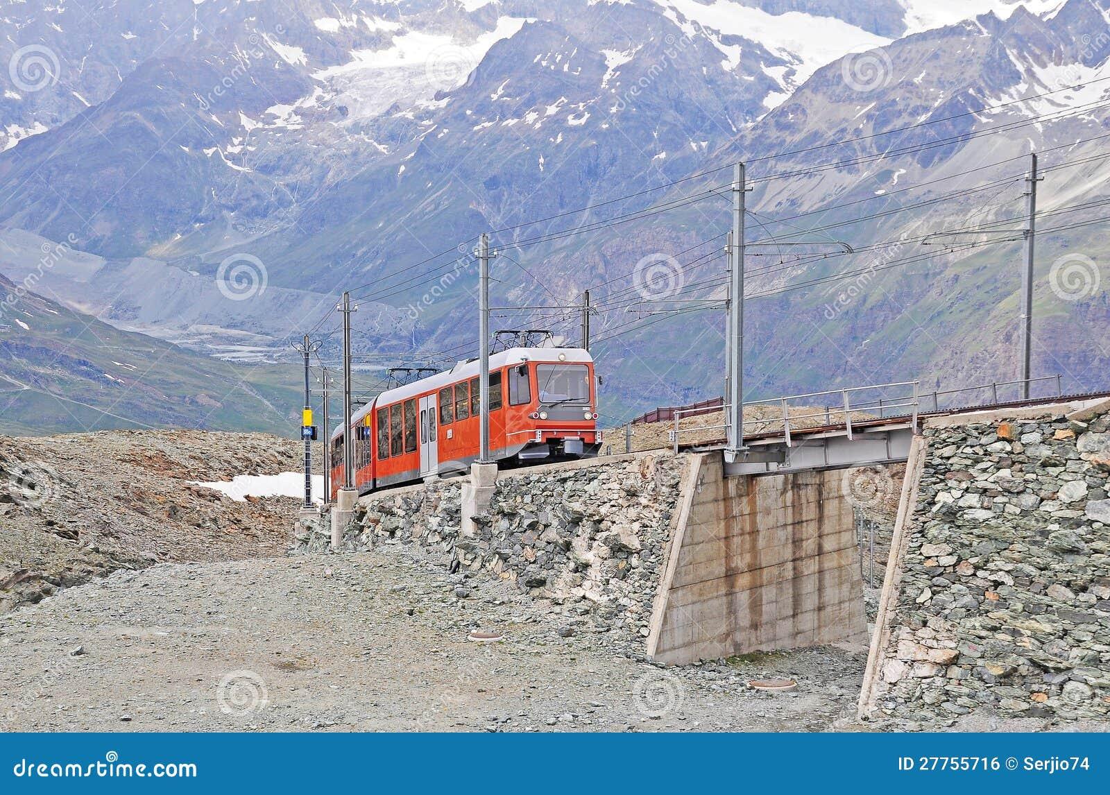 Bahn de Gornergrat.