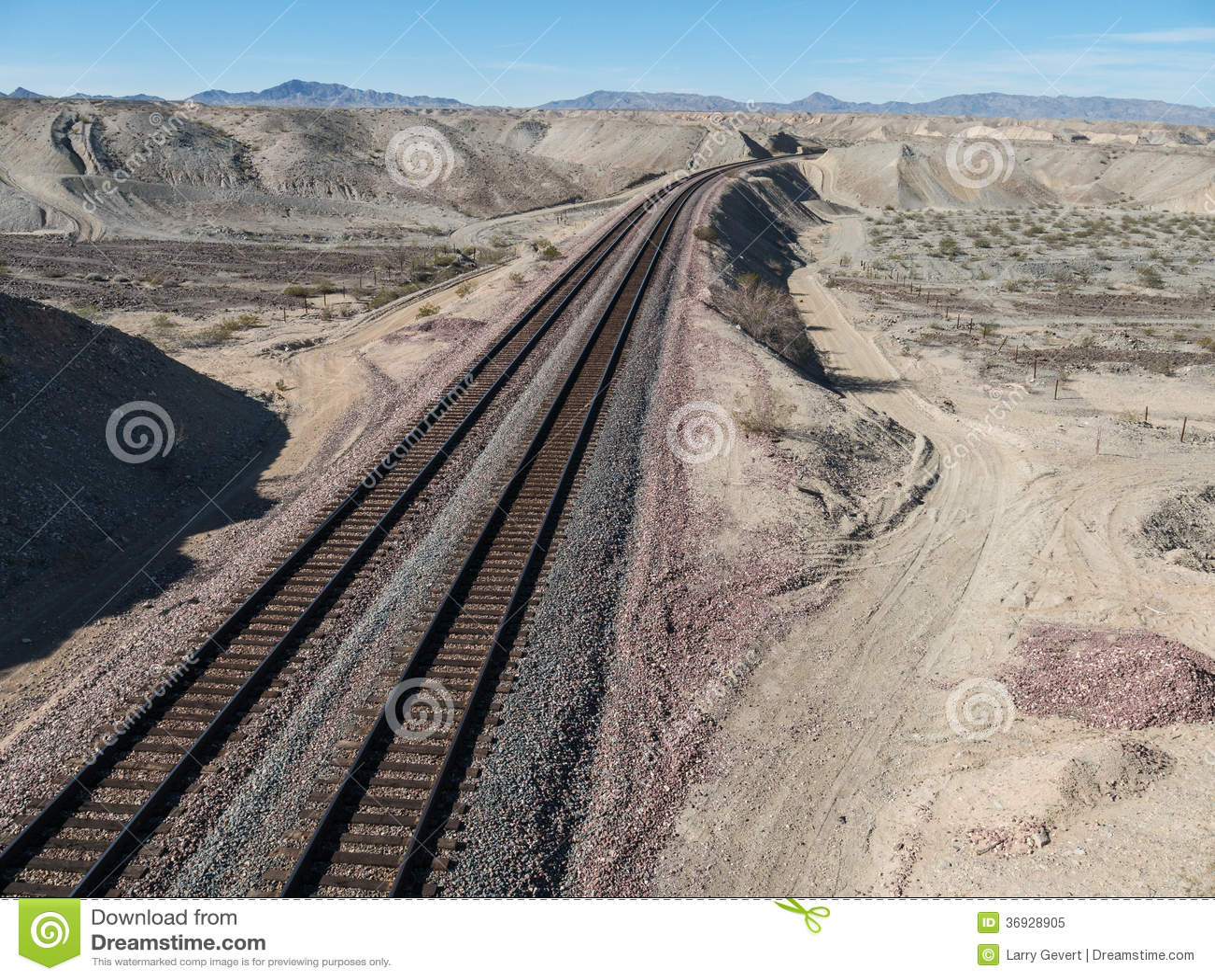 Bahnstrecken in Nord-Arizona
