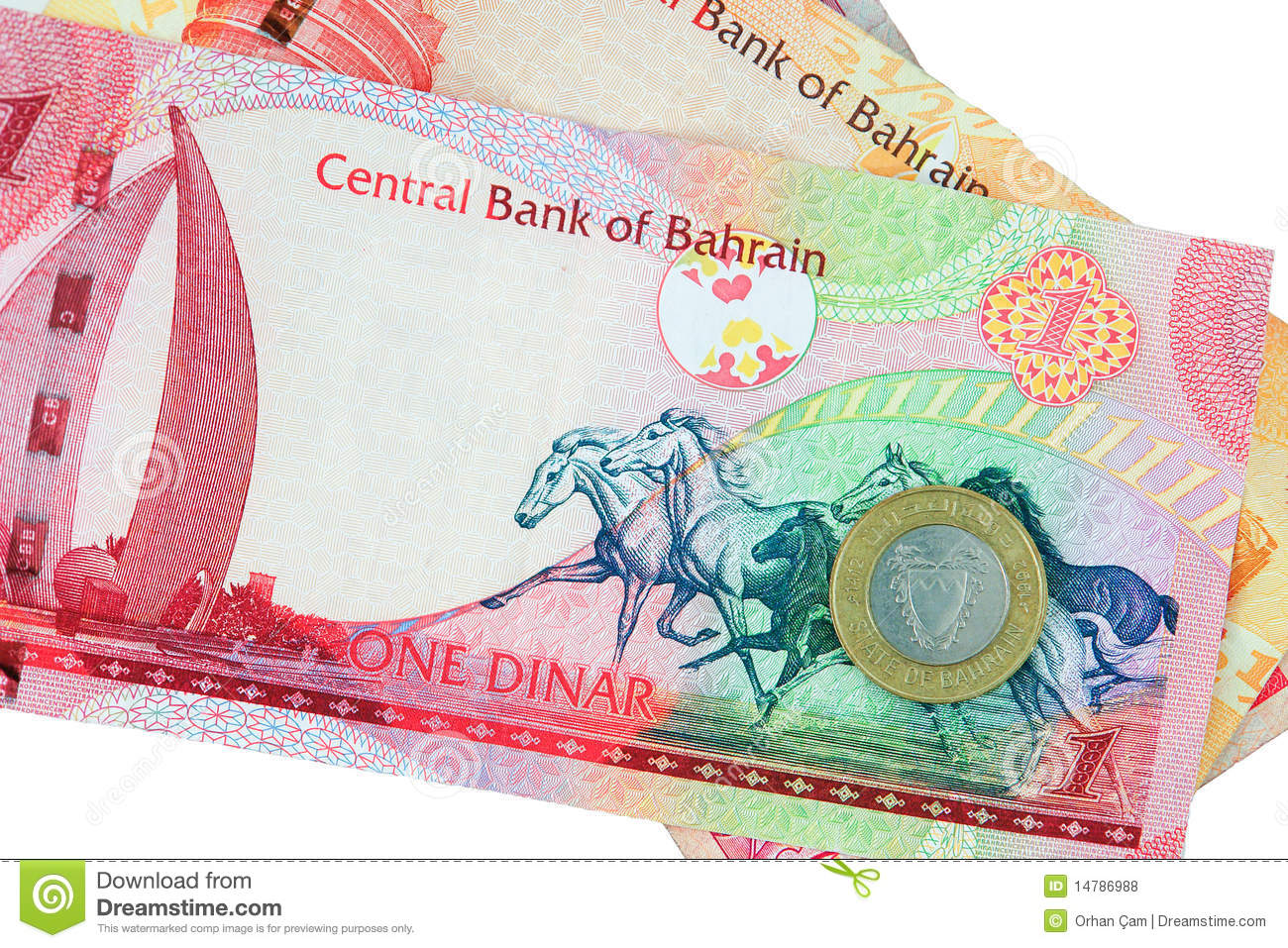 Bahrain Currency Isolated Stock Photo Image Of Cash Currency