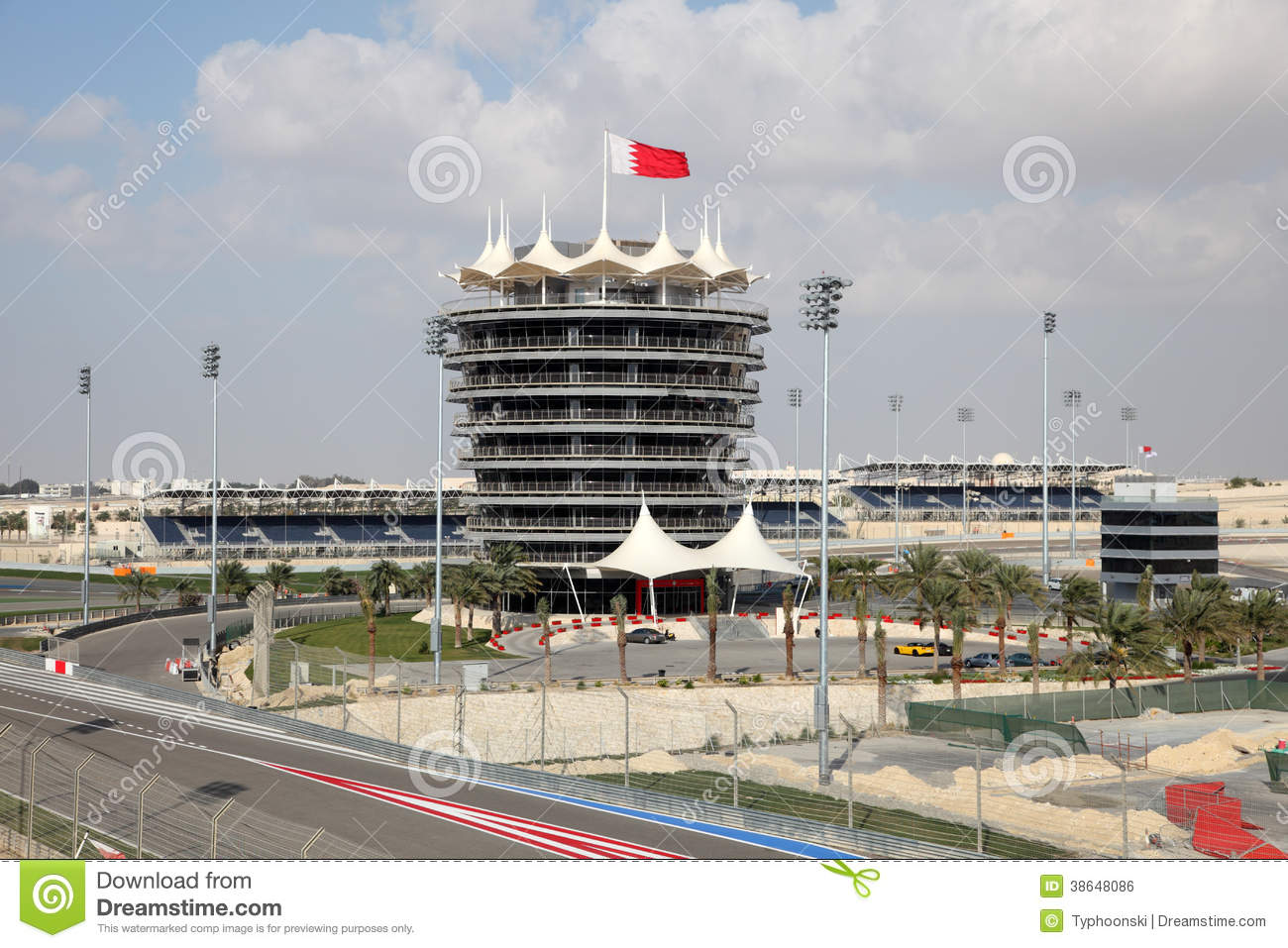 Bahrain international circuit editorial photo image for United international decor bahrain