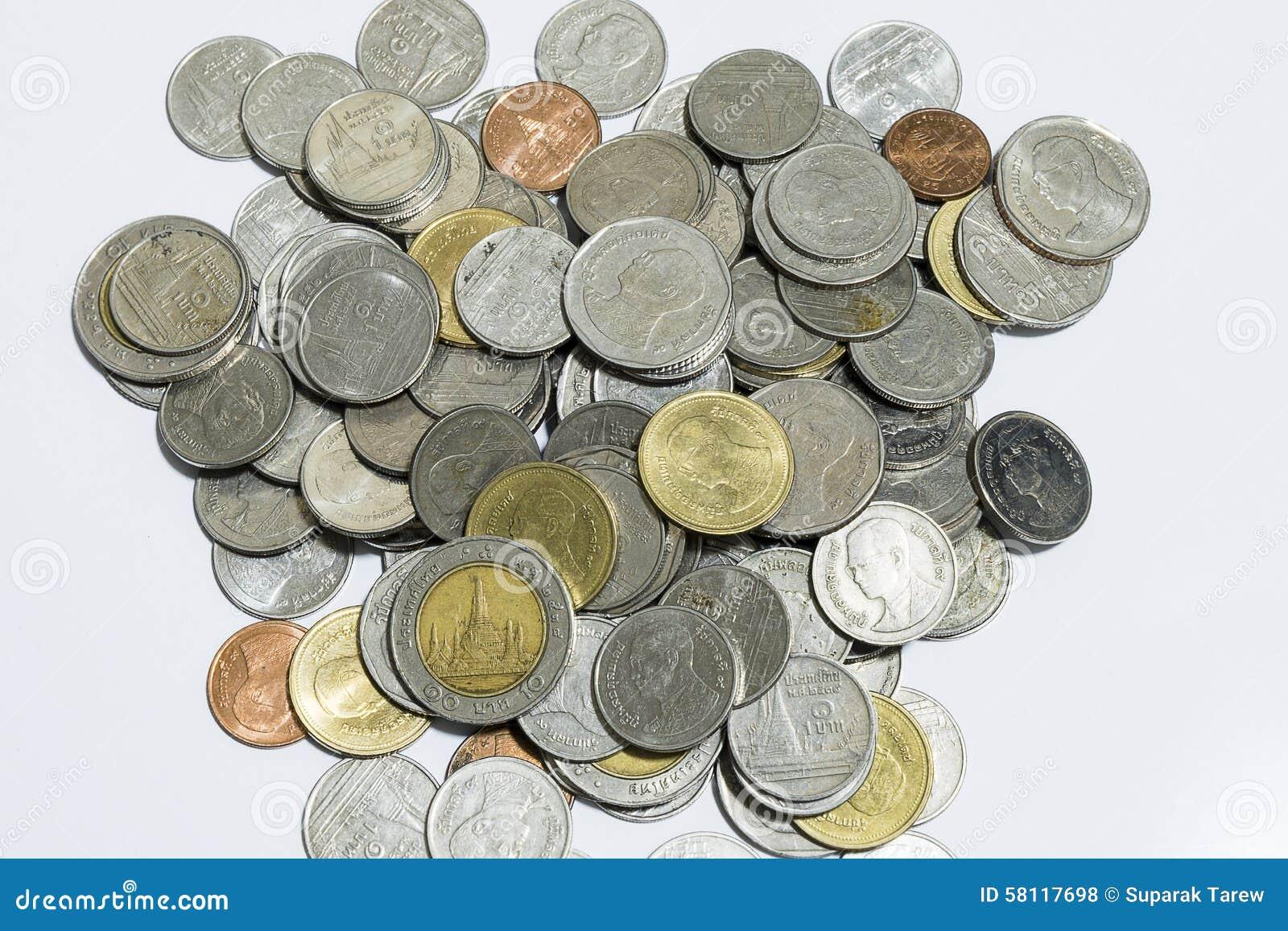Bahten coins thai