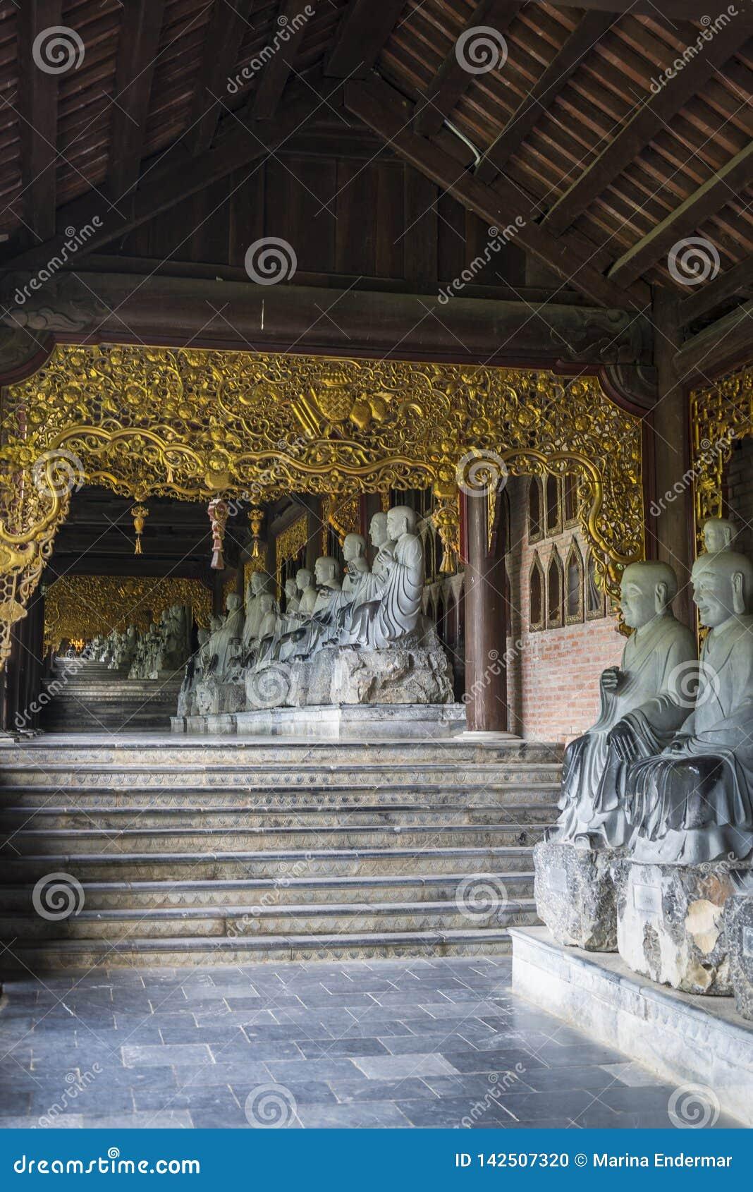 Bai Dinh Buddhist Temple,  Vietnam