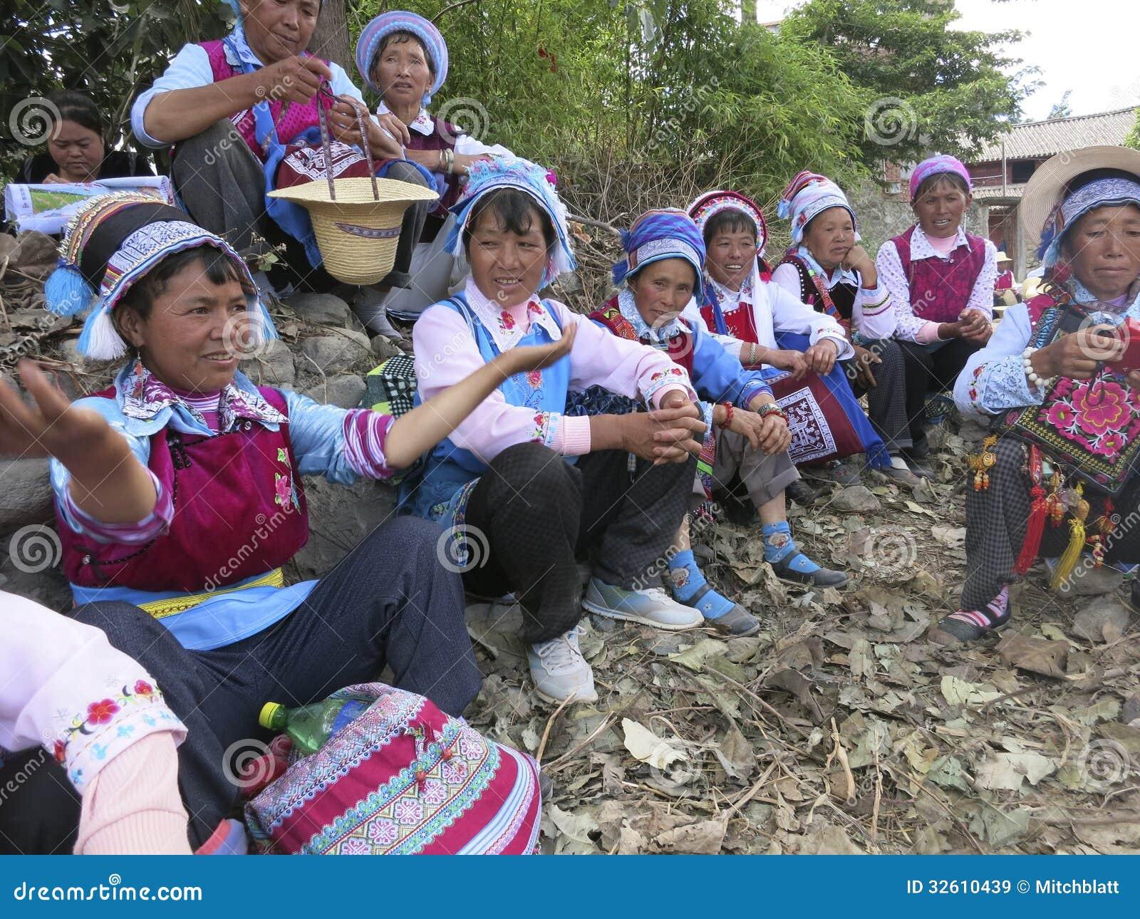 Bai Ethnic People i Kina