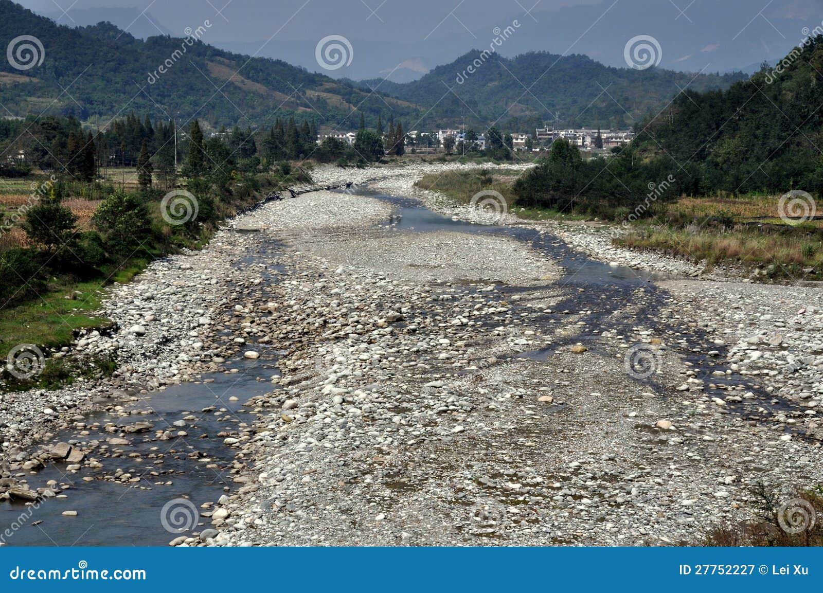 Bai Lu Chine : Fleuve de Jian Jiang