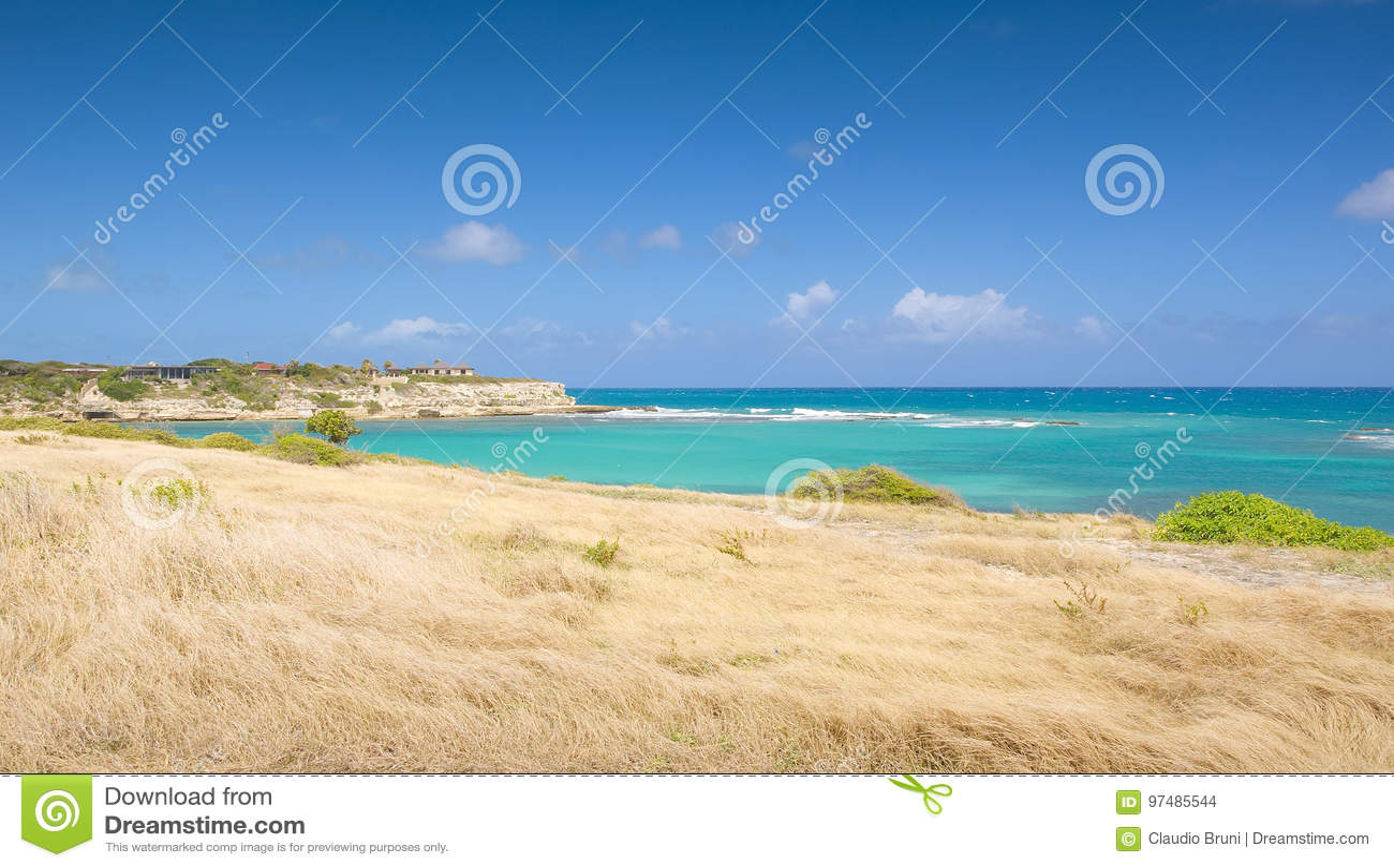 Baia del ponte del ` s del diavolo - Antigua e Barbuda marino caraibico