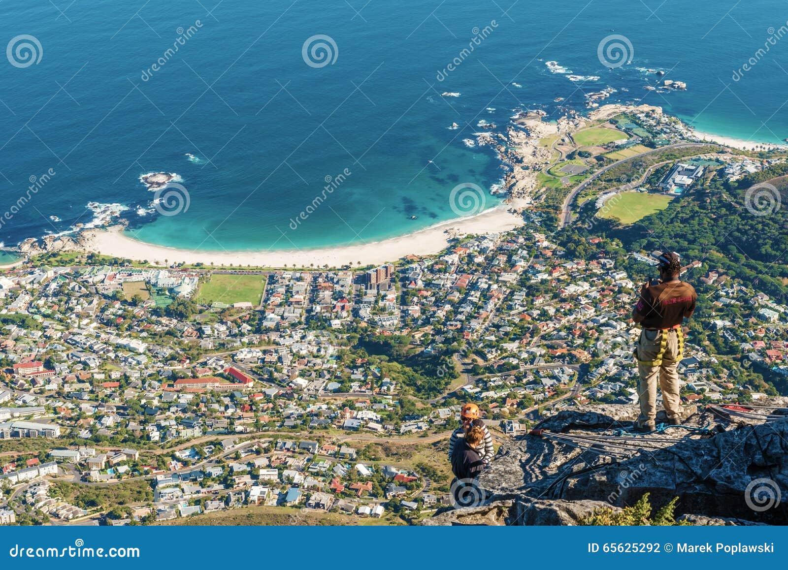 Baie de camps, Cape Town, Afrique du Sud